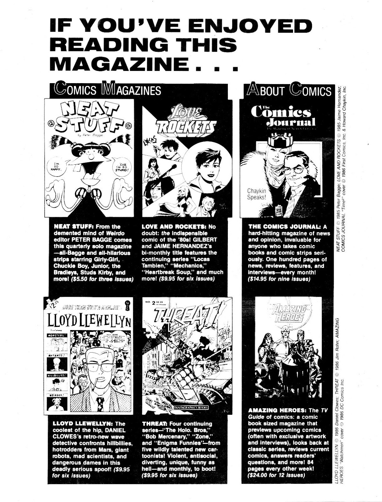 Love and Rockets (1982) Issue #17 #16 - English 34