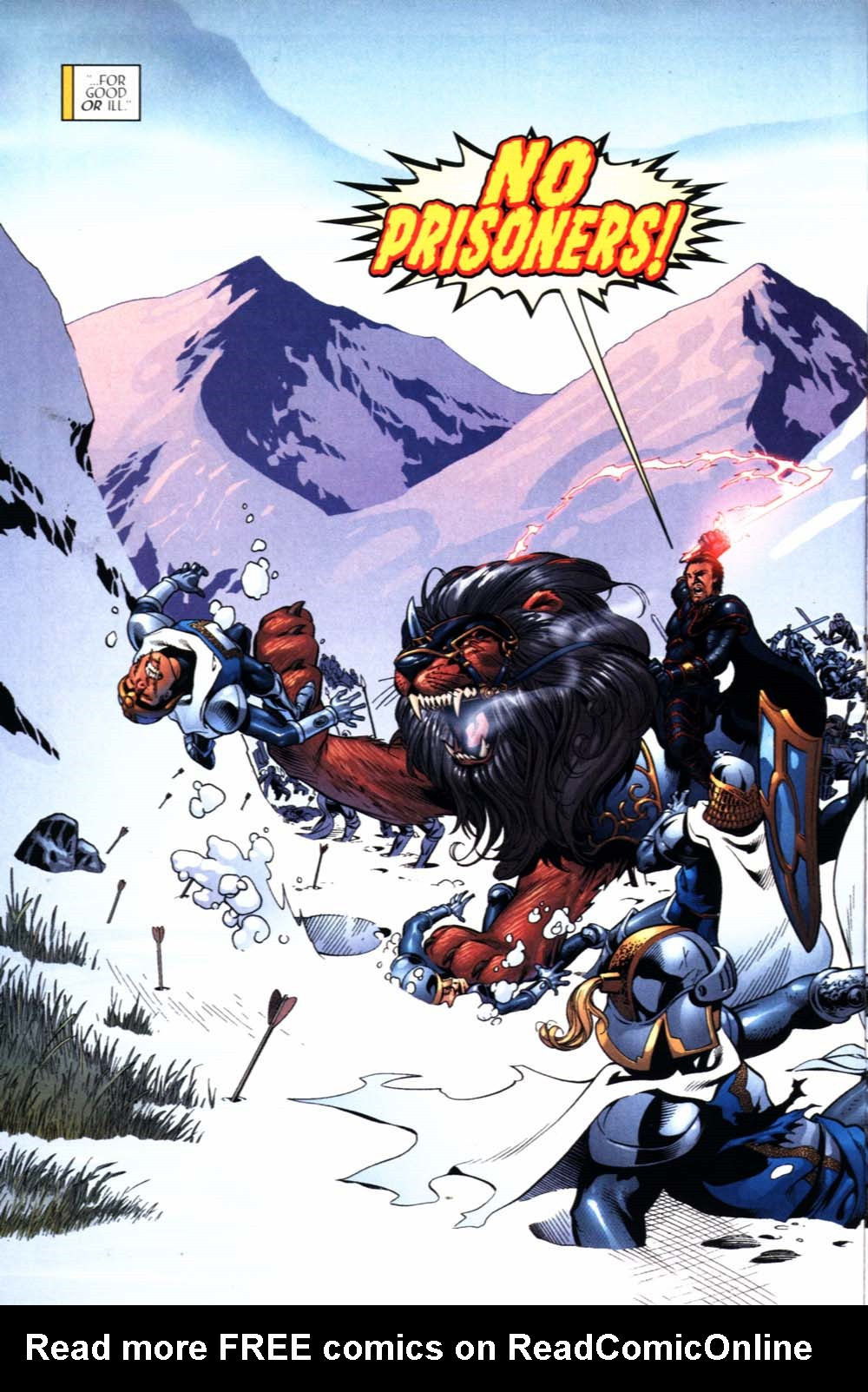 Read online Scion comic -  Issue #22 - 6