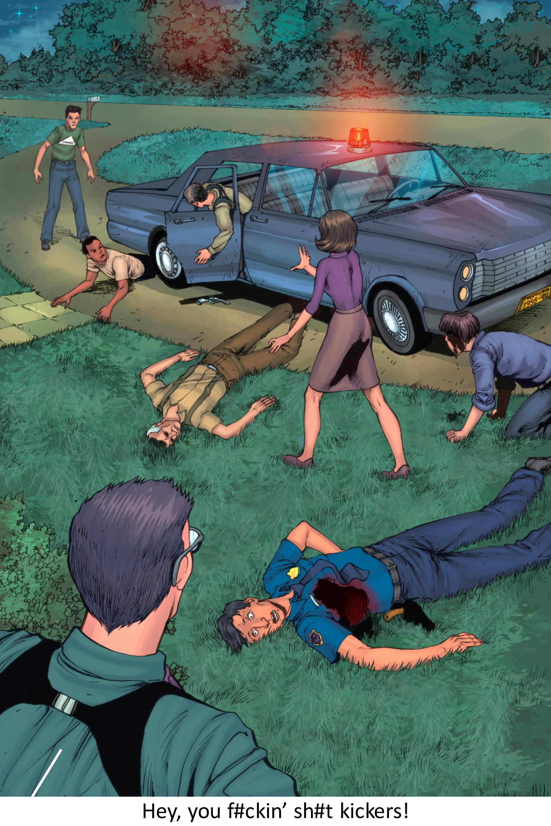 Read online Z-Men comic -  Issue #3 - 131