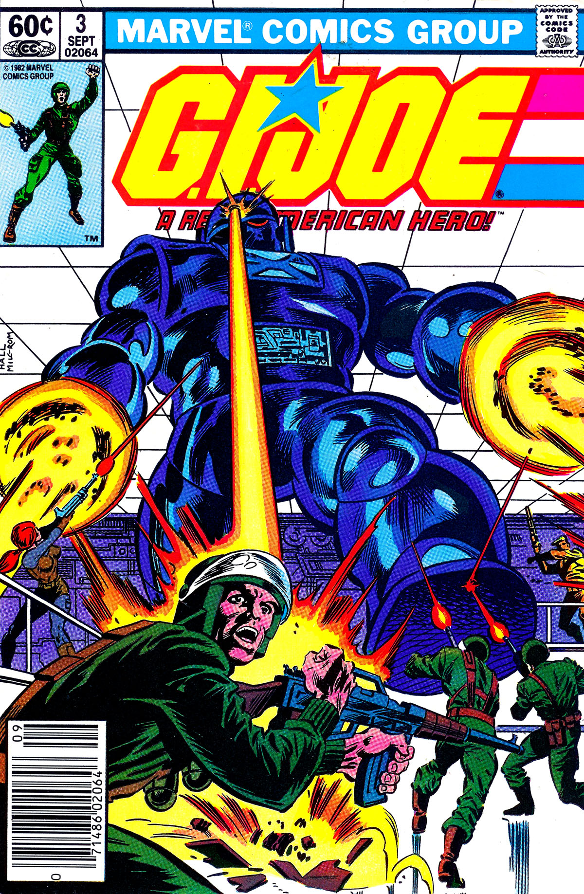G.I. Joe: A Real American Hero 3 Page 1