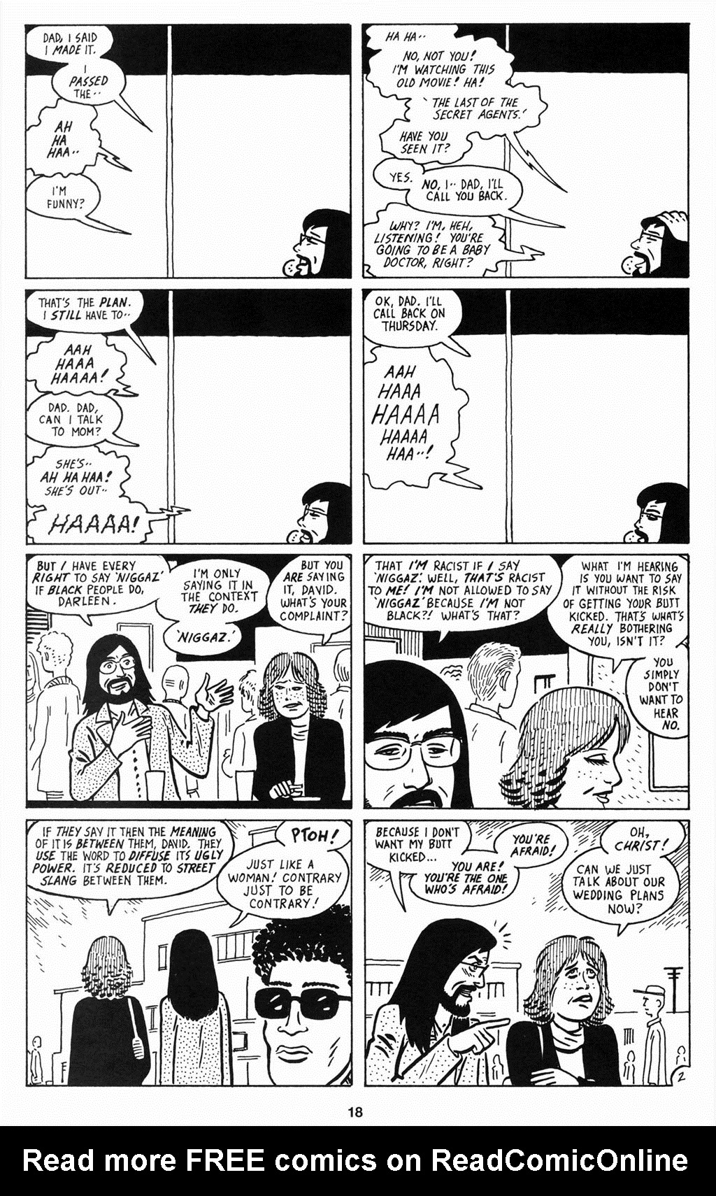 Read online Love and Rockets (2001) comic -  Issue #12 - 19