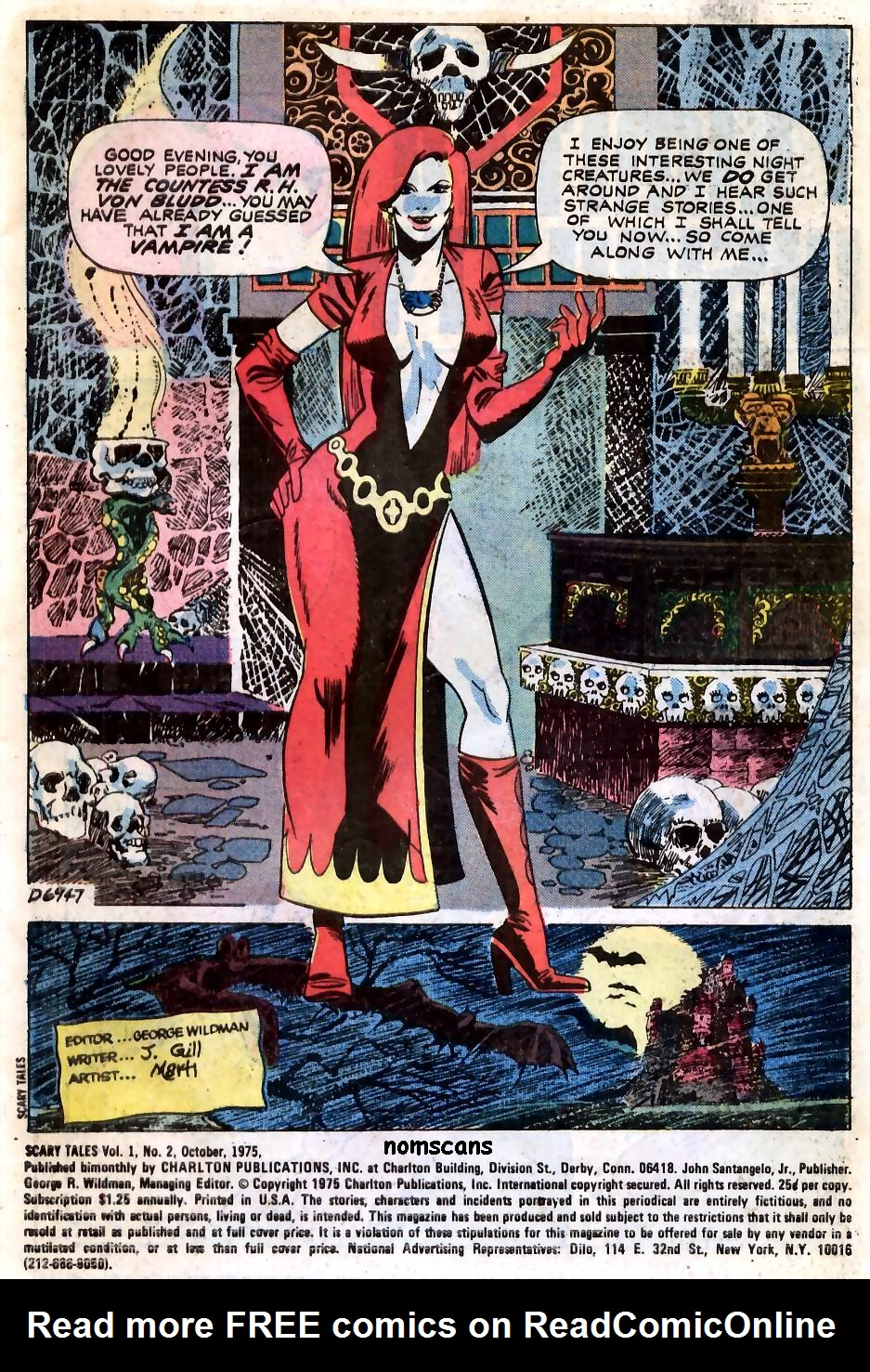 Read online Scary Tales comic -  Issue #2 - 2