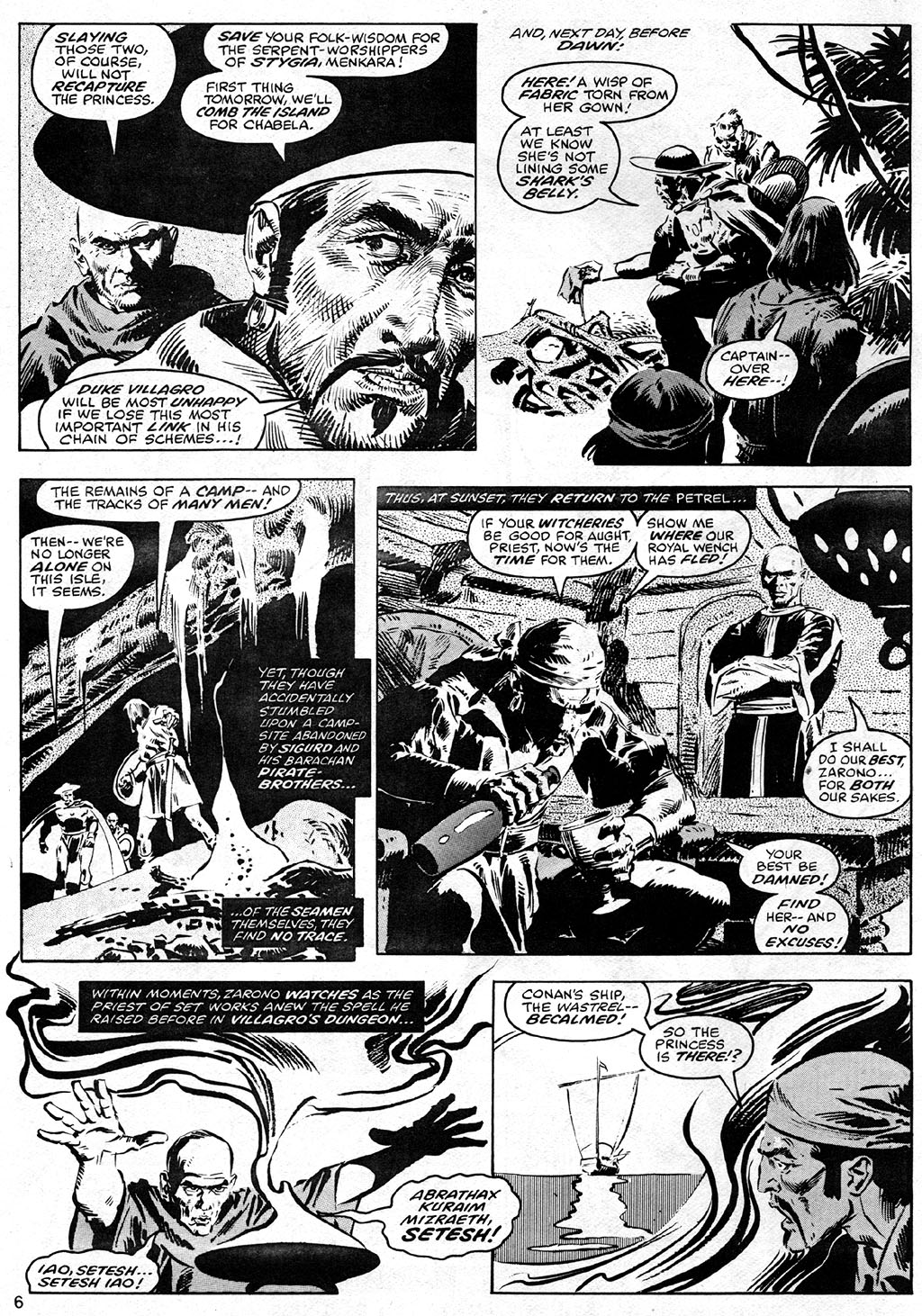 The Savage Sword Of Conan Issue #41 #42 - English 6