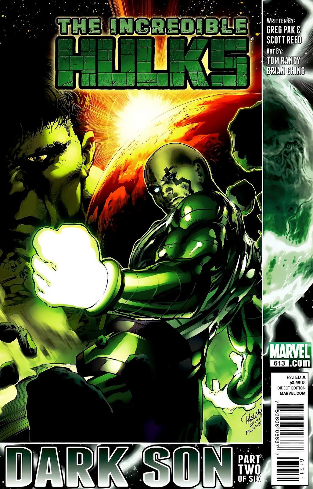 Incredible Hulks (2010) Issue #613 #3 - English 1