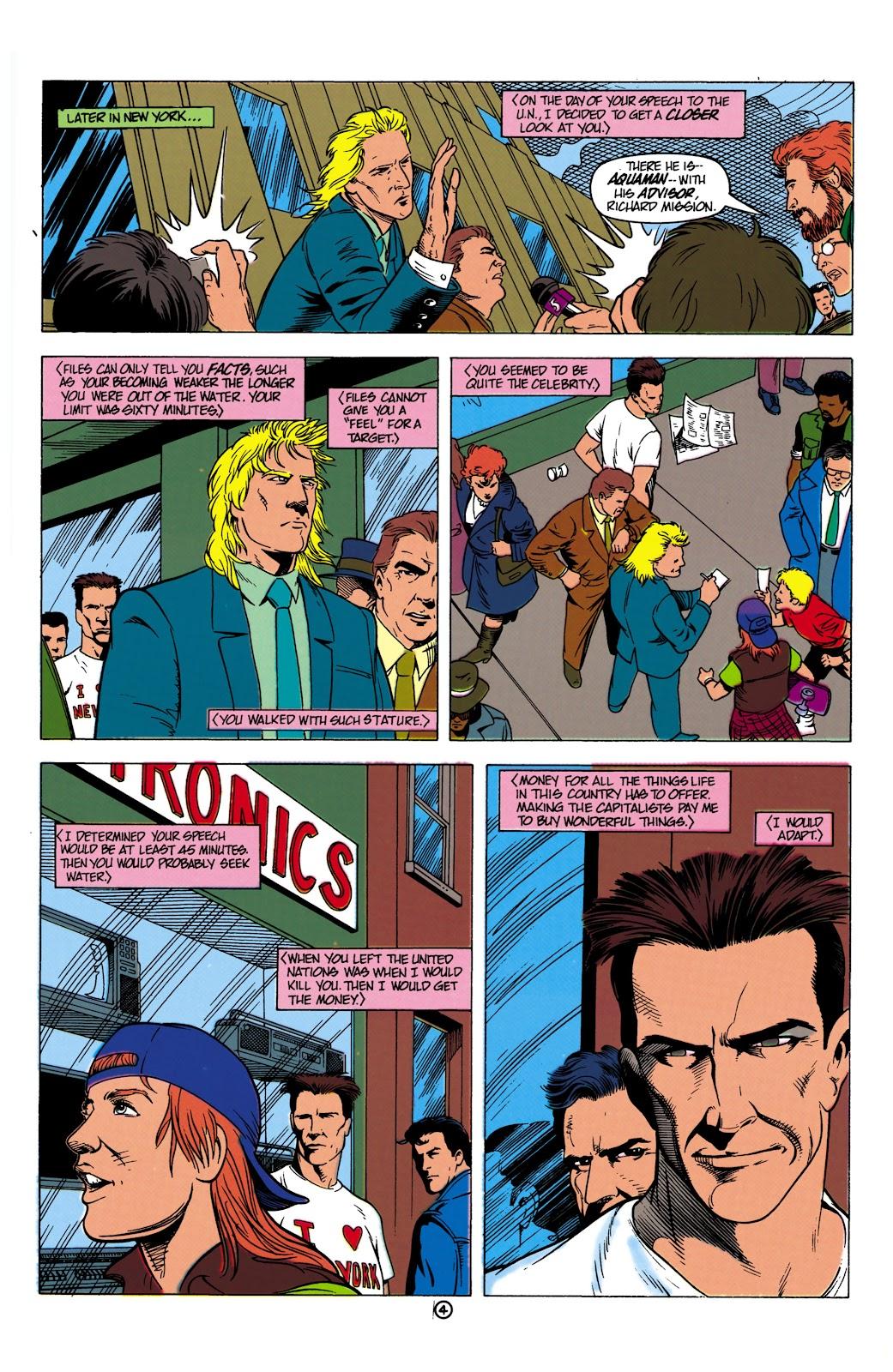 Aquaman (1991) Issue #8 #8 - English 5