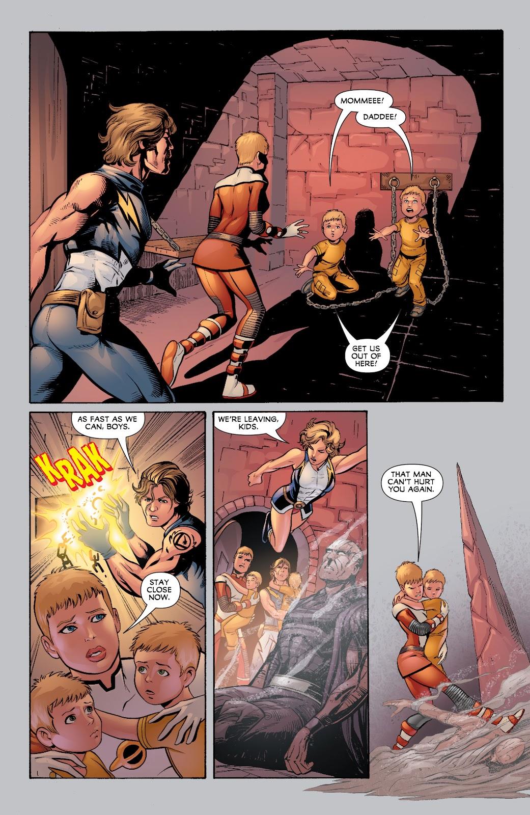Legion of Super-Heroes (2010) Issue #4 #5 - English 28