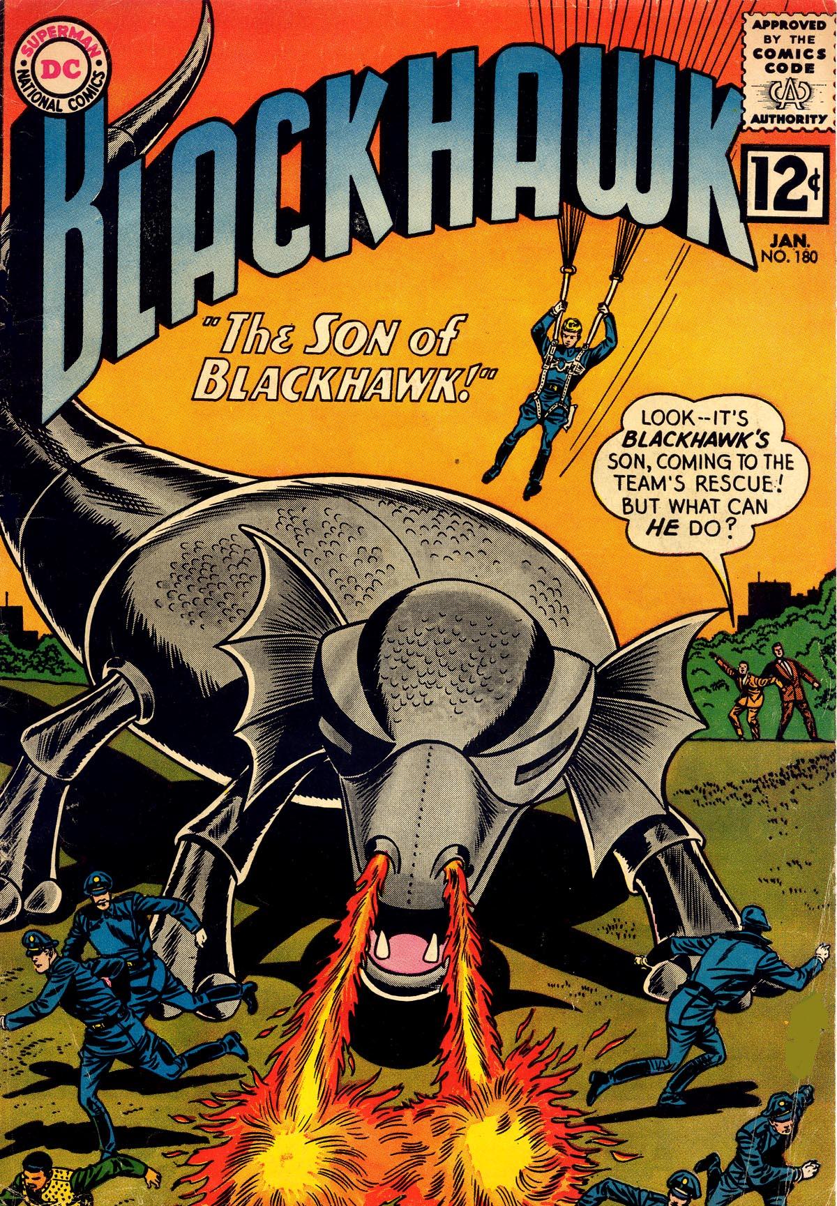 Blackhawk (1957) 180 Page 1
