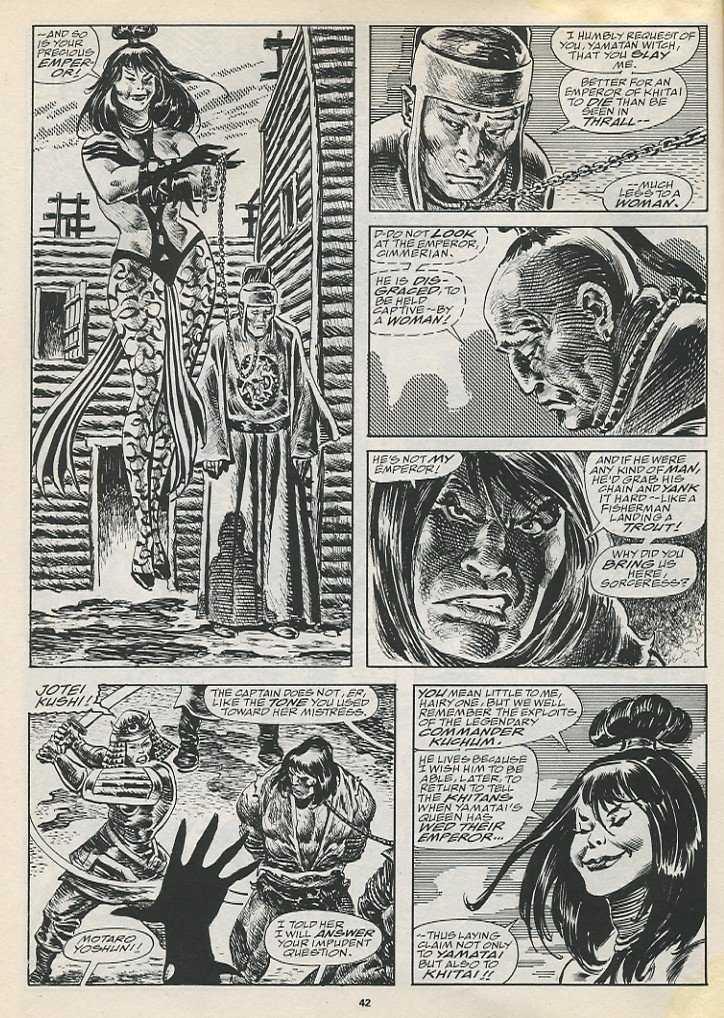 The Savage Sword Of Conan Issue #194 #195 - English 44