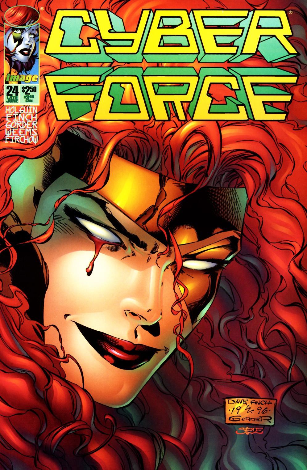 Cyberforce (1993) 24 Page 1
