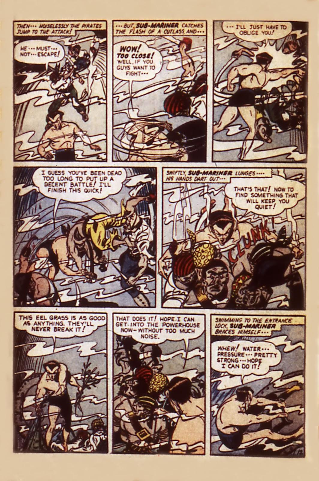 Sub-Mariner Comics Issue #7 #7 - English 14