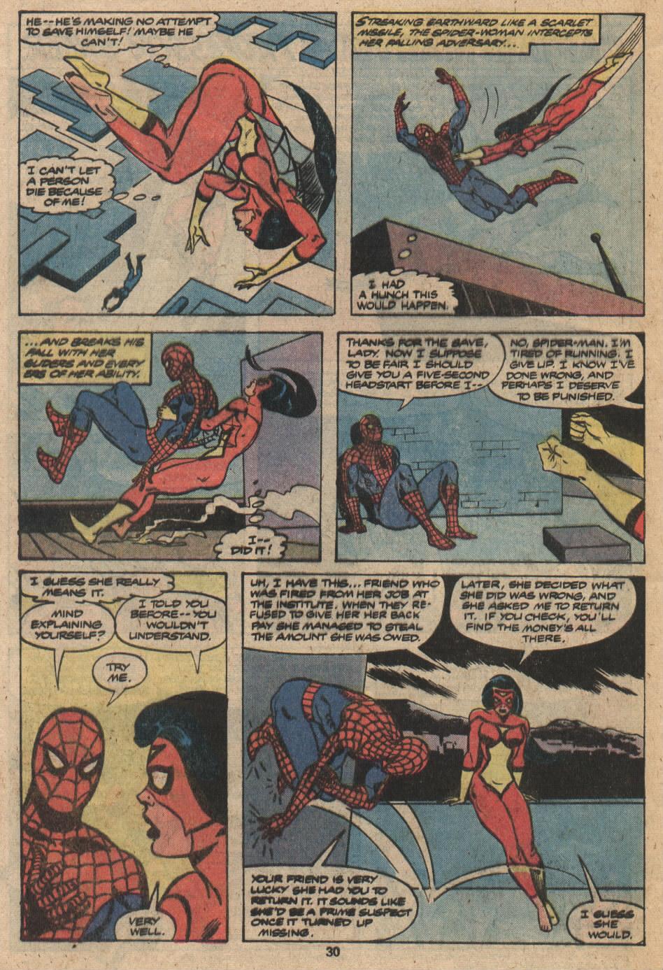 Spider-Woman (1978) #20 #31 - English 18