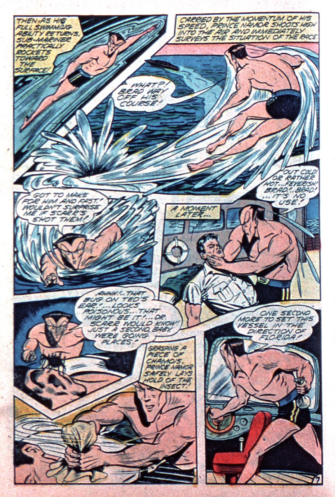 Sub-Mariner Comics Issue #15 #15 - English 36