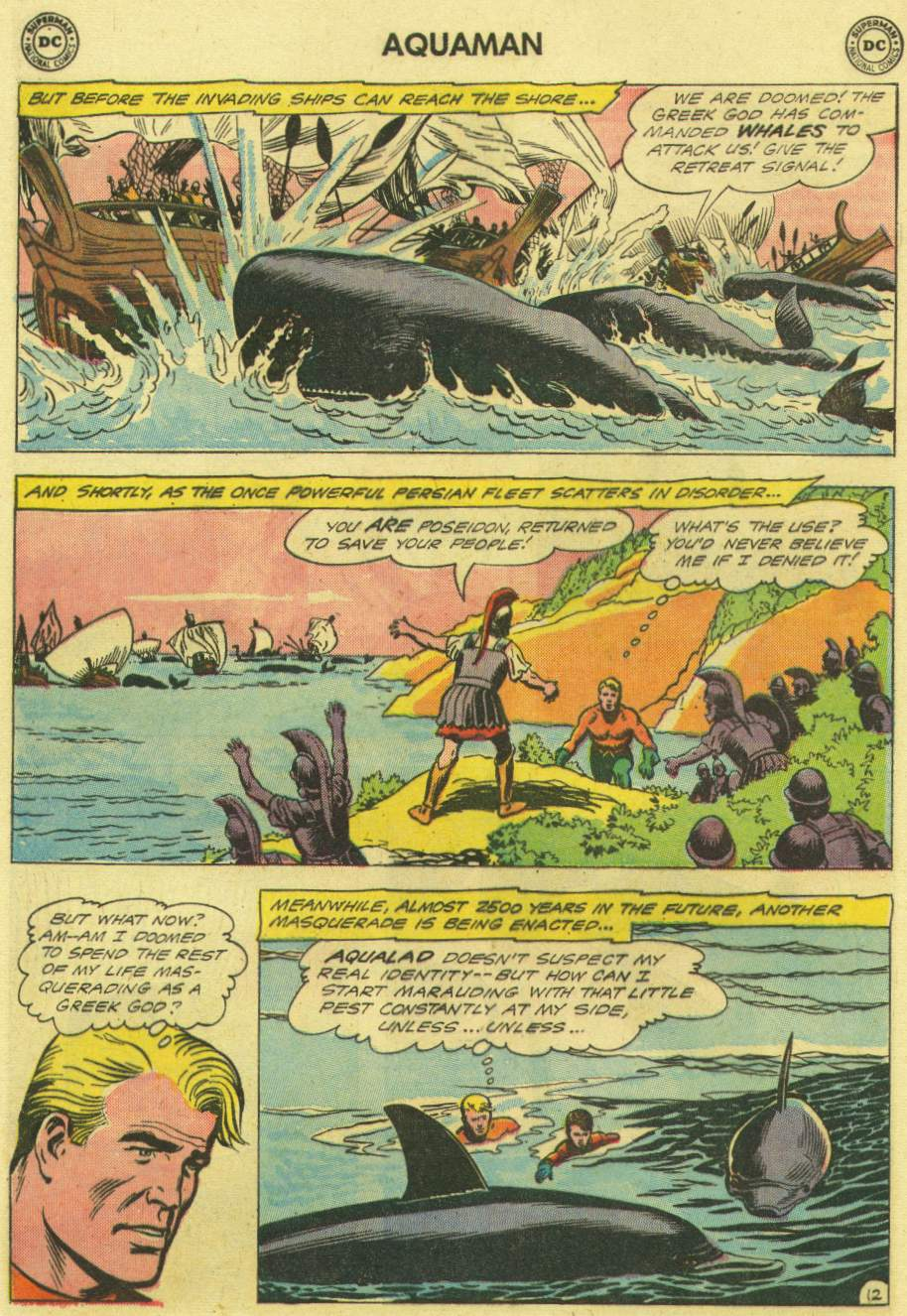 Aquaman (1962) Issue #3 #3 - English 16