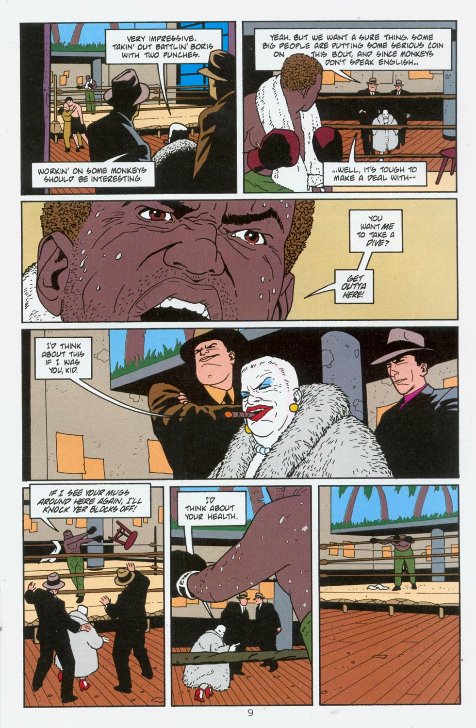 Read online Terminal City comic -  Issue #6 - 10