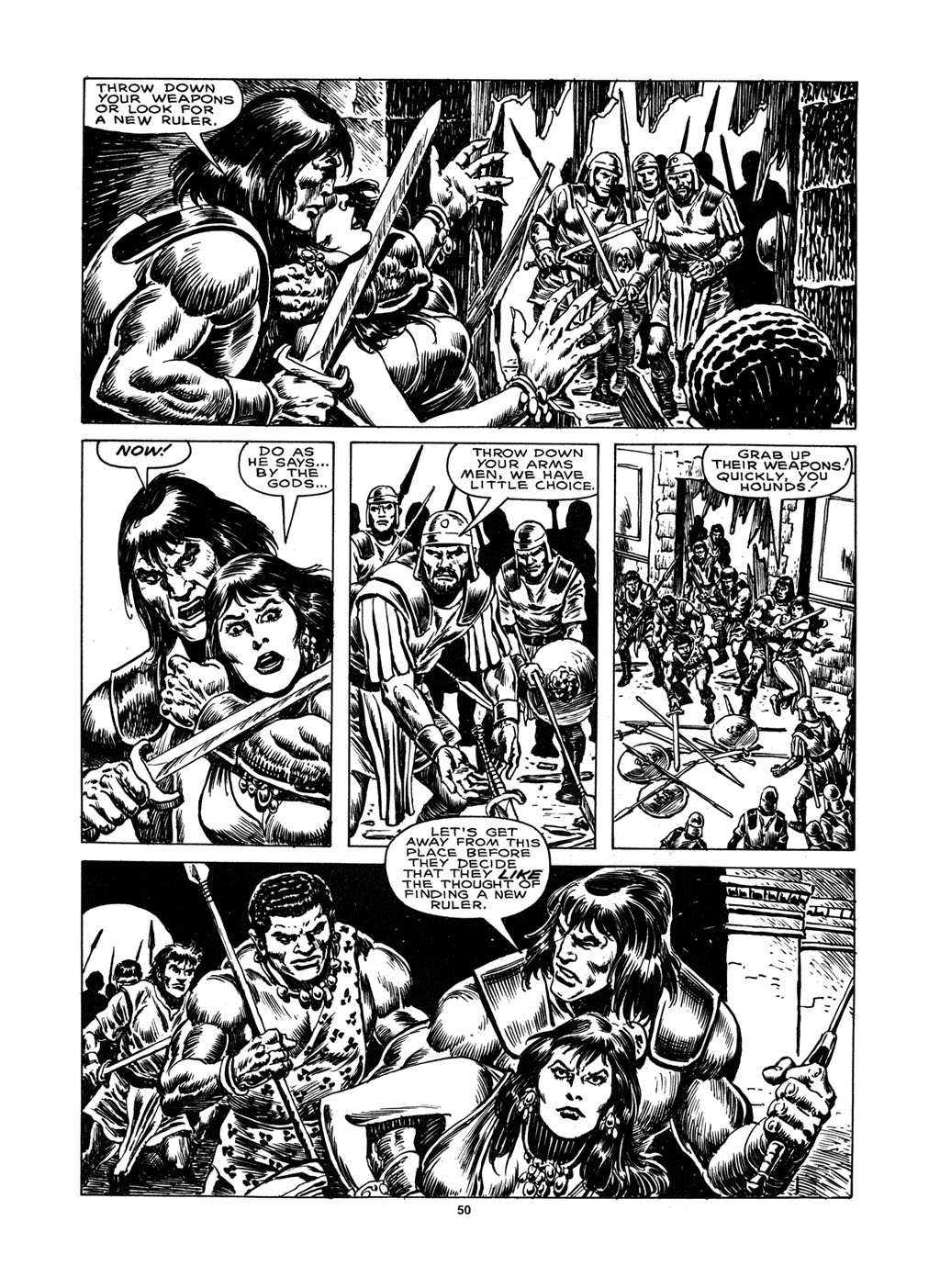 The Savage Sword Of Conan Issue #148 #149 - English 48