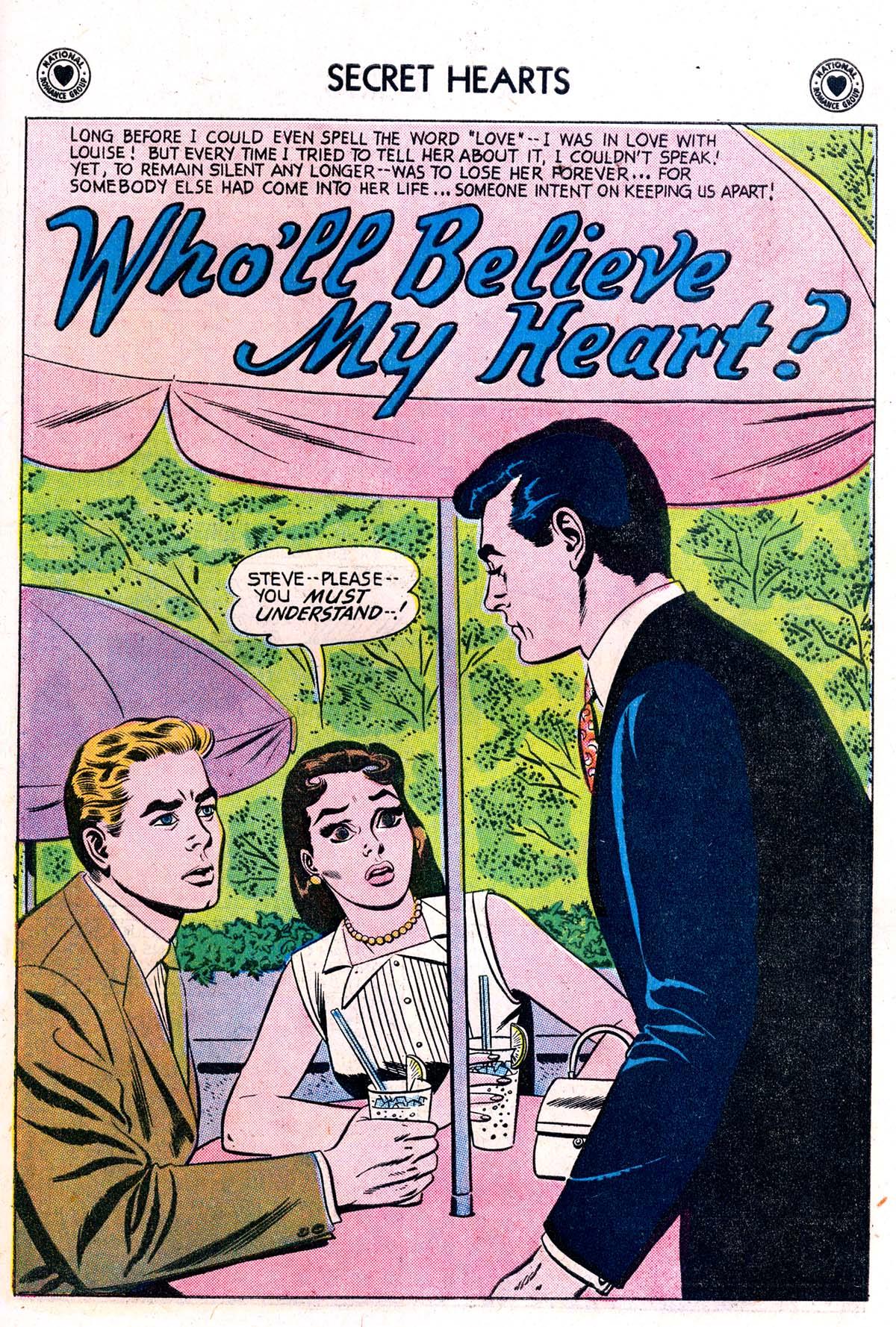 Read online Secret Hearts comic -  Issue #42 - 27