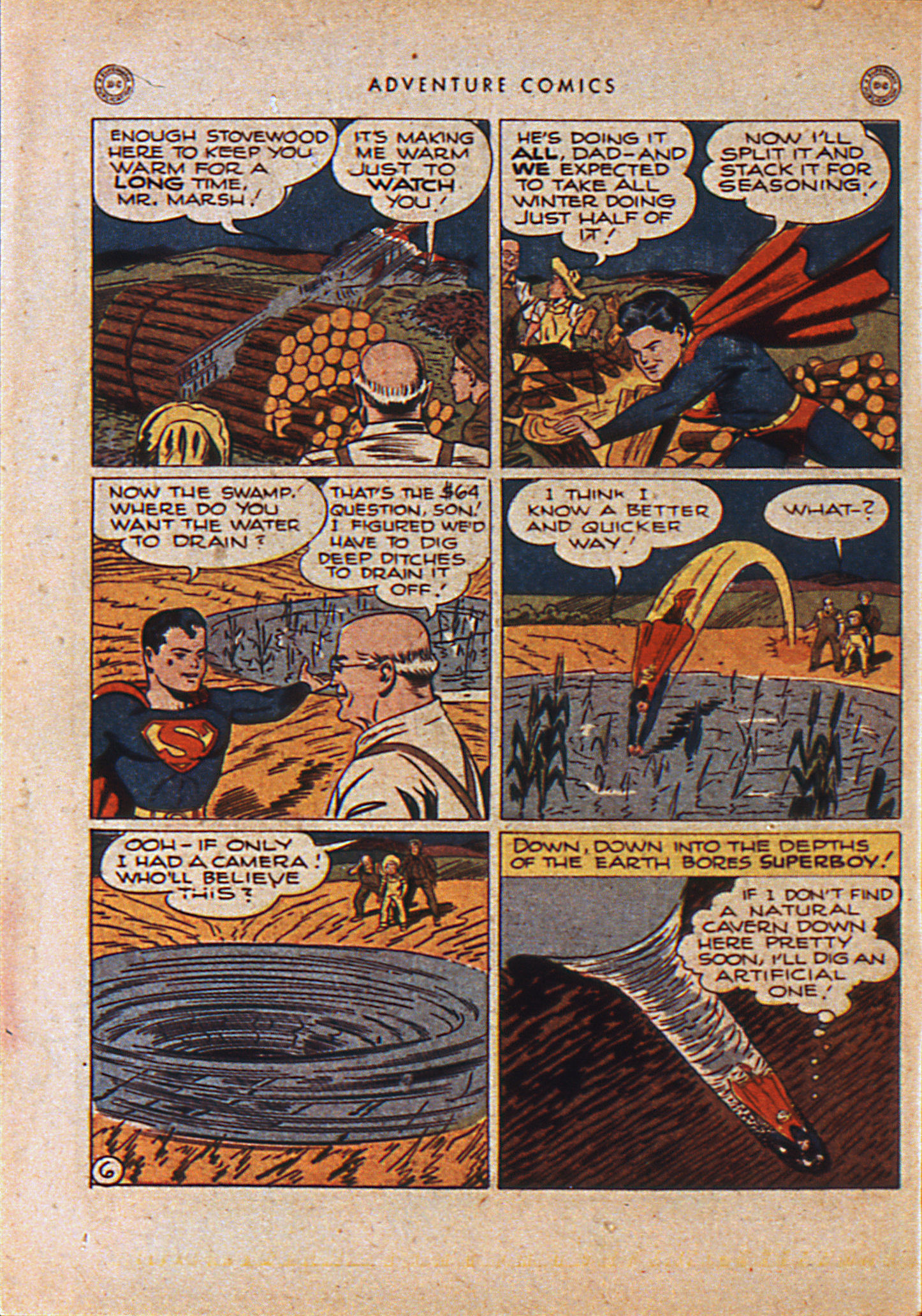Read online Adventure Comics (1938) comic -  Issue #110 - 9