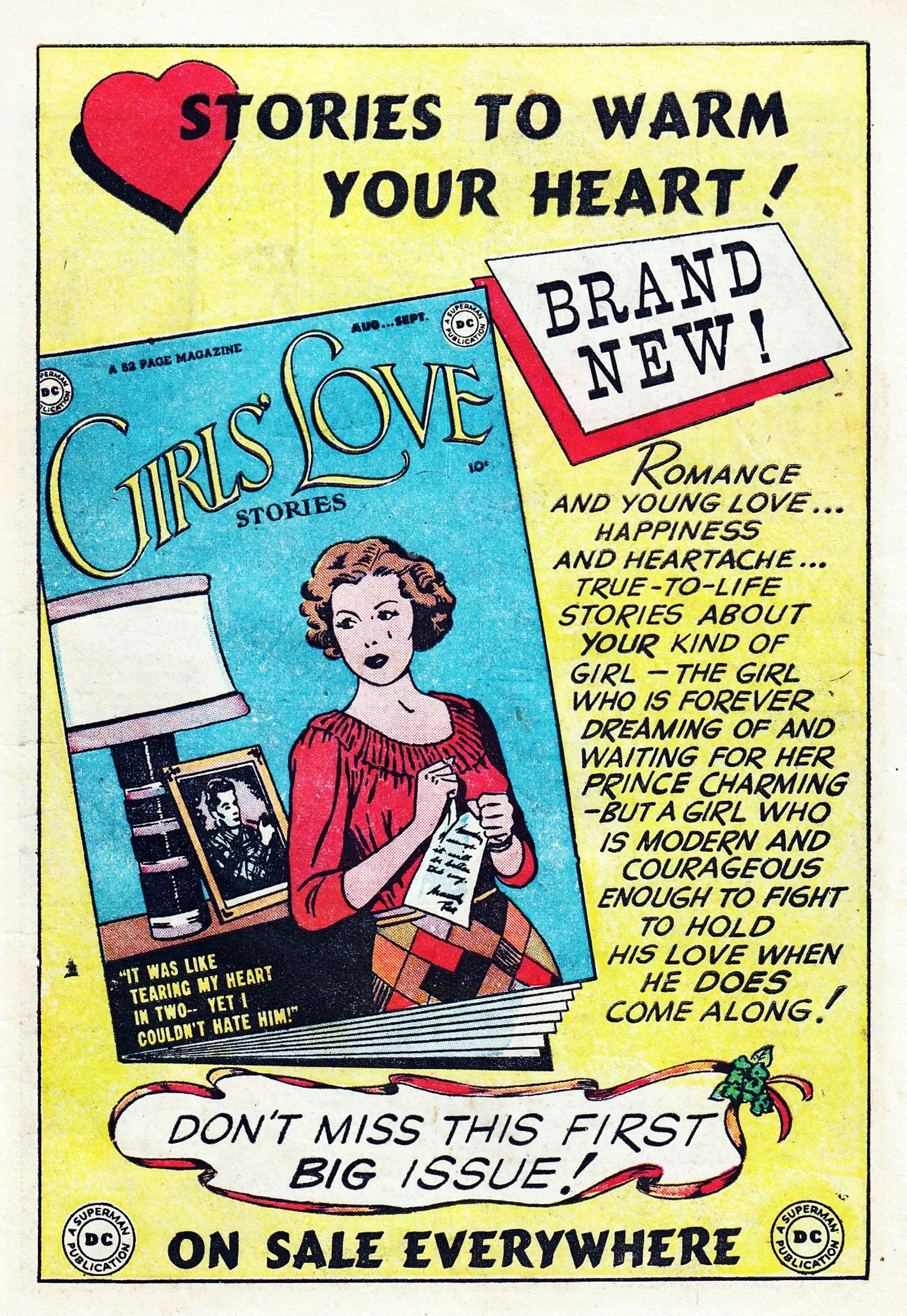 Read online Secret Hearts comic -  Issue #1 - 11