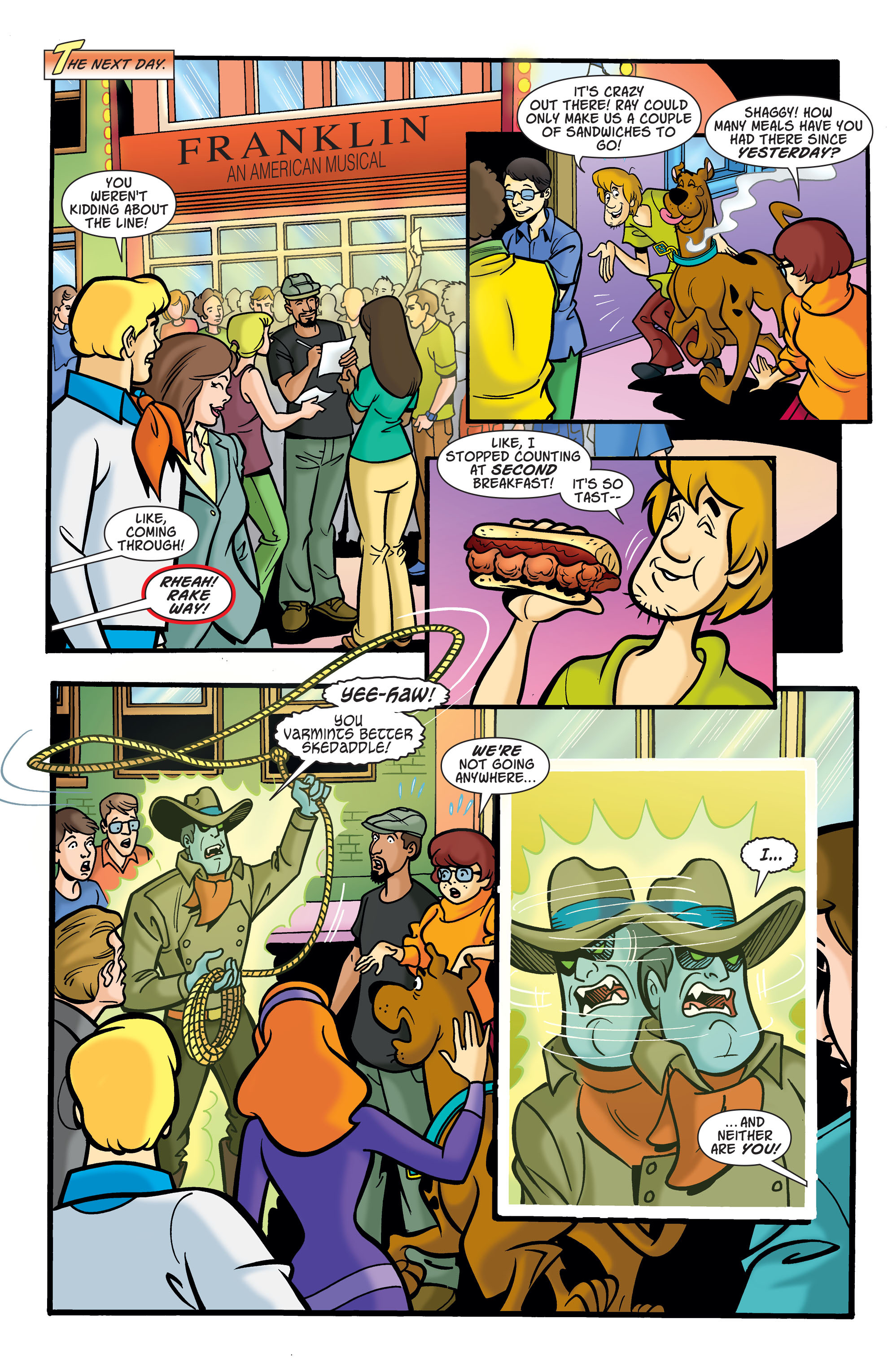 Read online Scooby-Doo: Where Are You? comic -  Issue #74 - 9