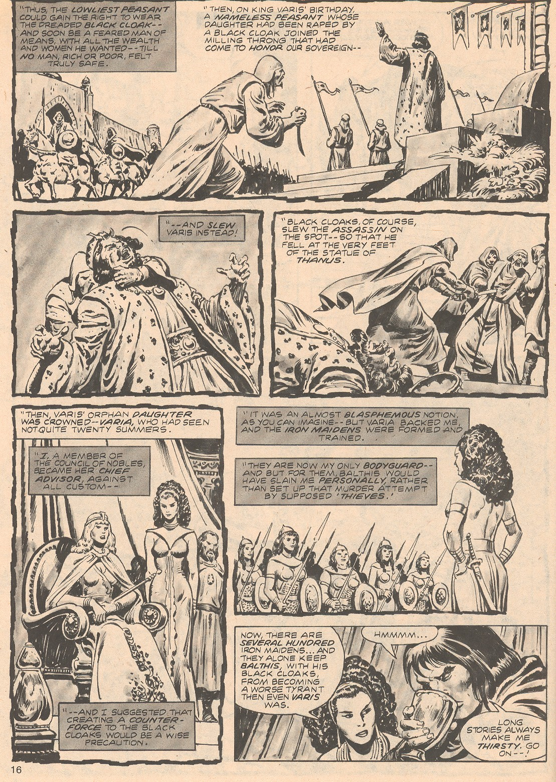 The Savage Sword Of Conan Issue #68 #69 - English 16