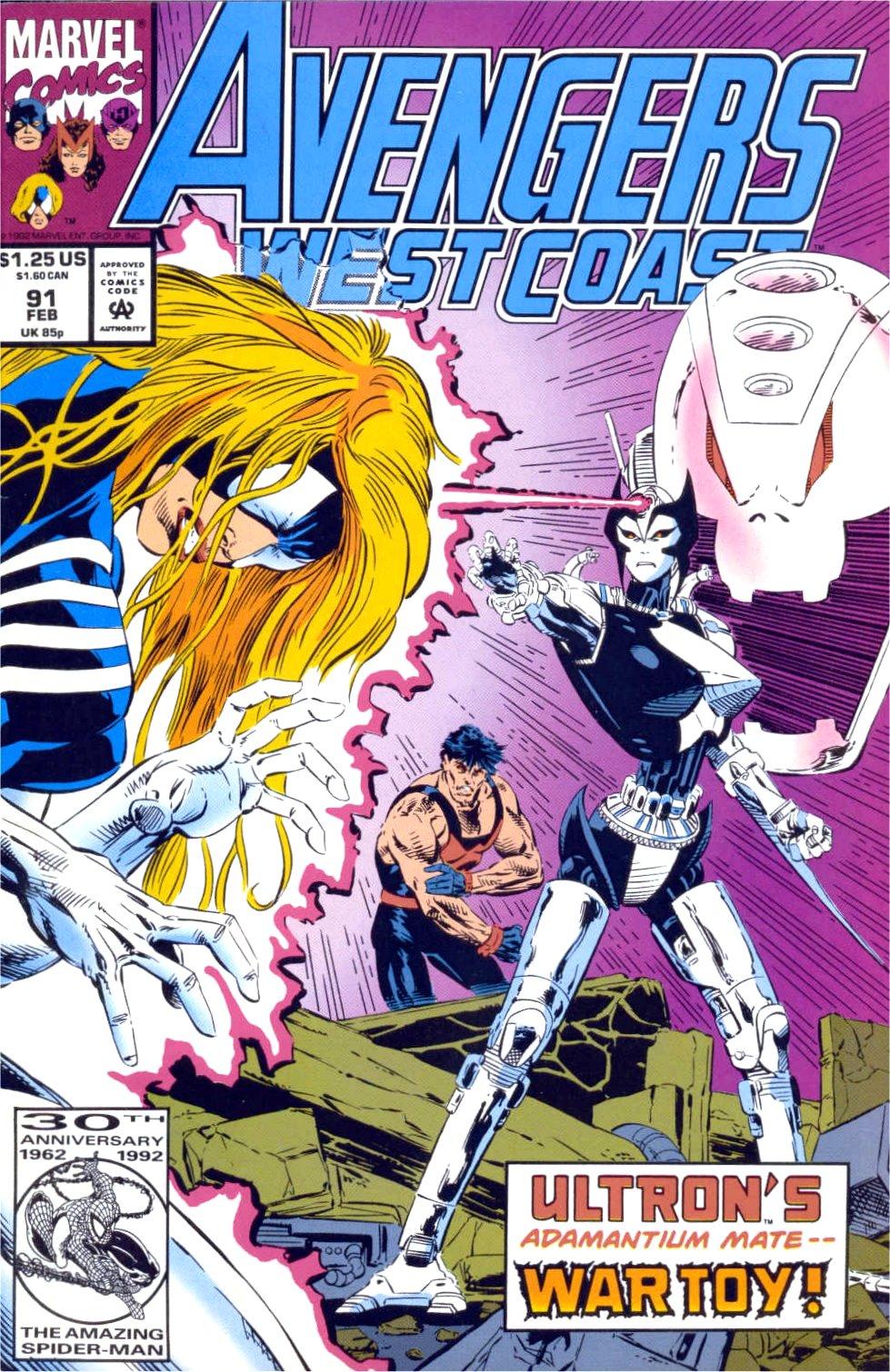Avengers West Coast (1989) 91 Page 1