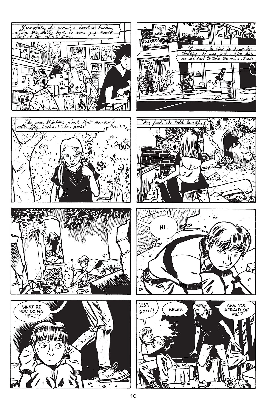 Stray Bullets Issue #15 #15 - English 12