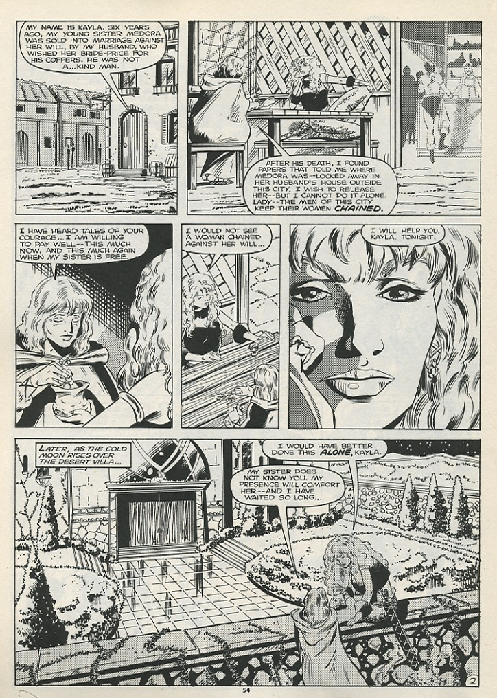 The Savage Sword Of Conan Issue #178 #179 - English 56