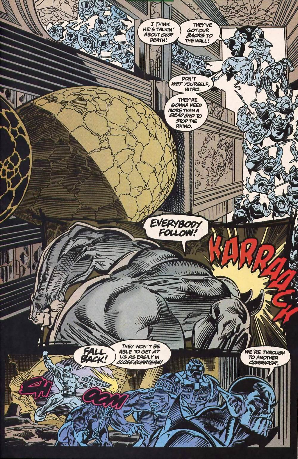 Read online Secret Defenders comic -  Issue #13 - 7