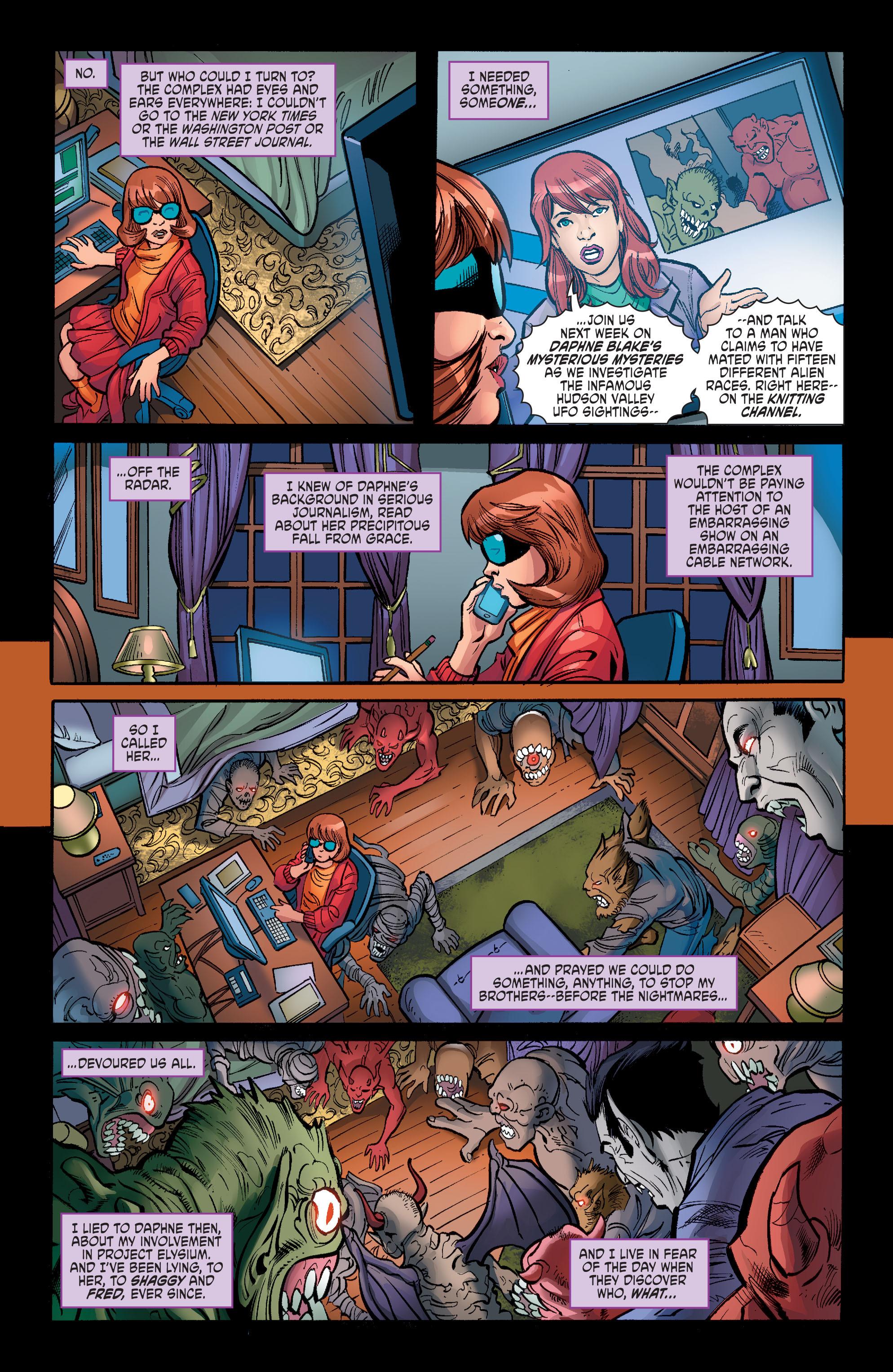 Read online Scooby Apocalypse comic -  Issue #6 - 19
