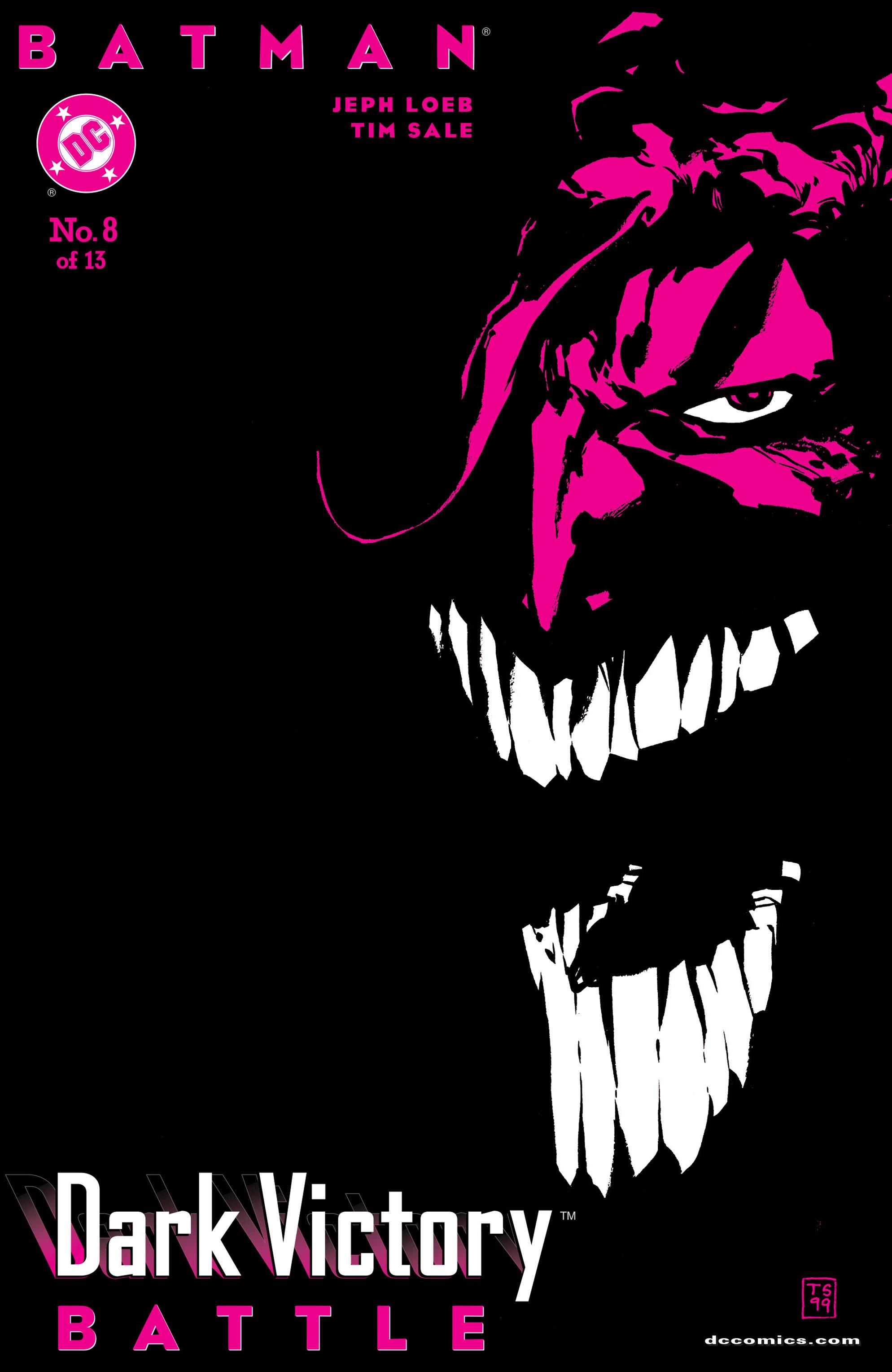 Batman: Dark Victory (1999) 8 Page 1