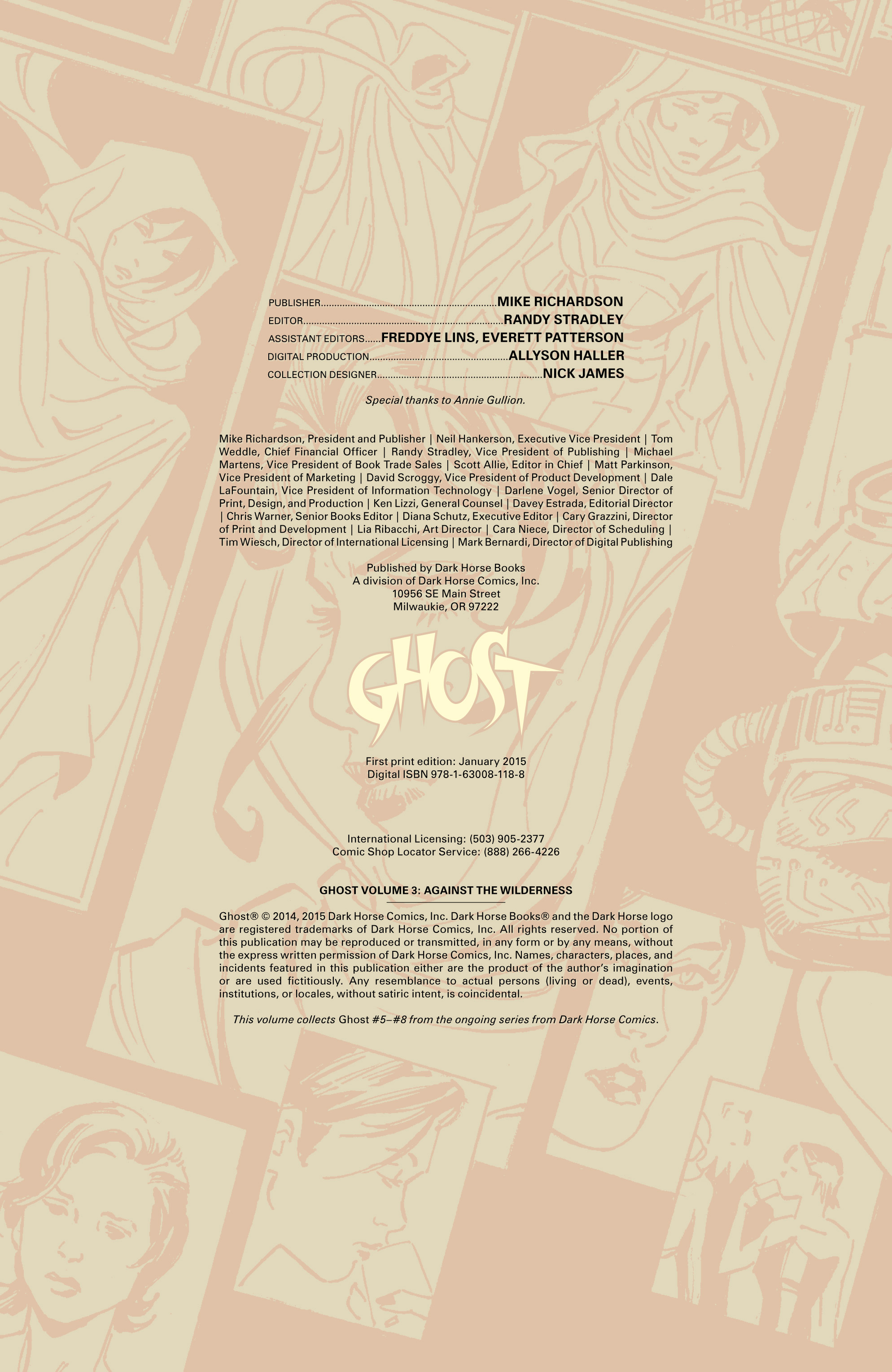 Read online Ghost (2013) comic -  Issue # TPB 2 - 5