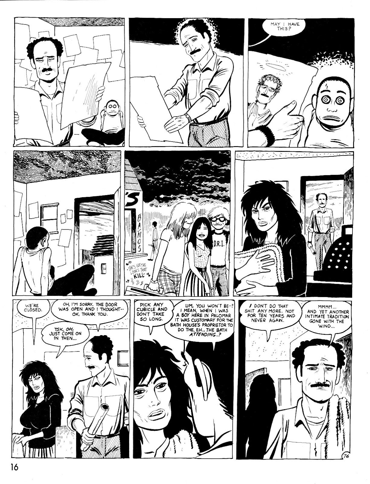 Love and Rockets (1982) Issue #25 #24 - English 20