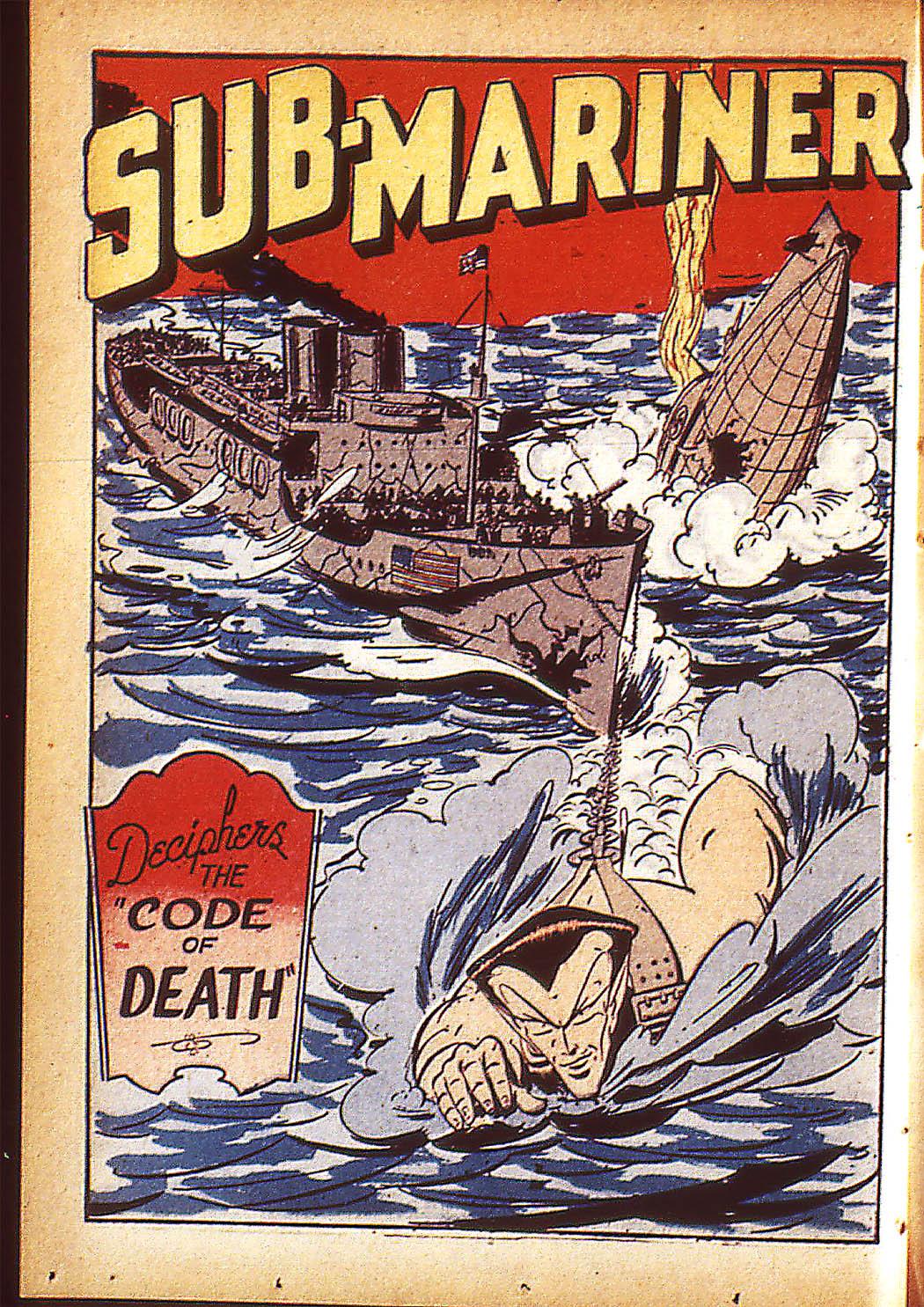 Sub-Mariner Comics Issue #10 #10 - English 25