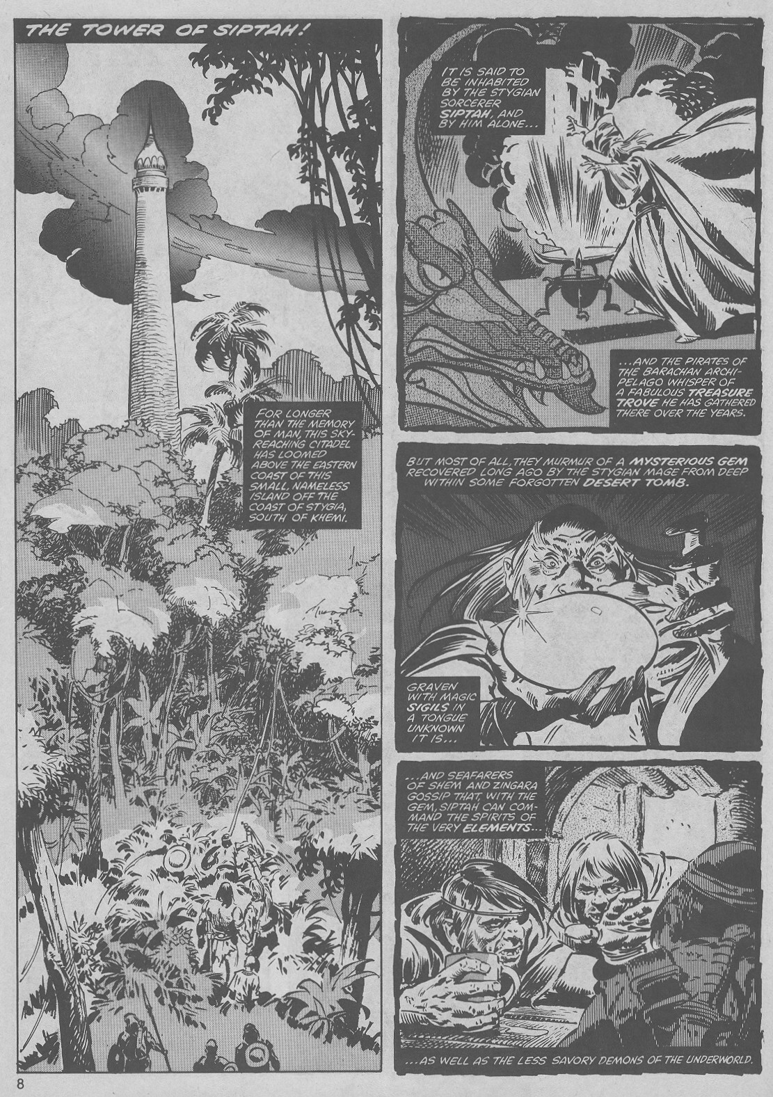 The Savage Sword Of Conan Issue #45 #46 - English 8