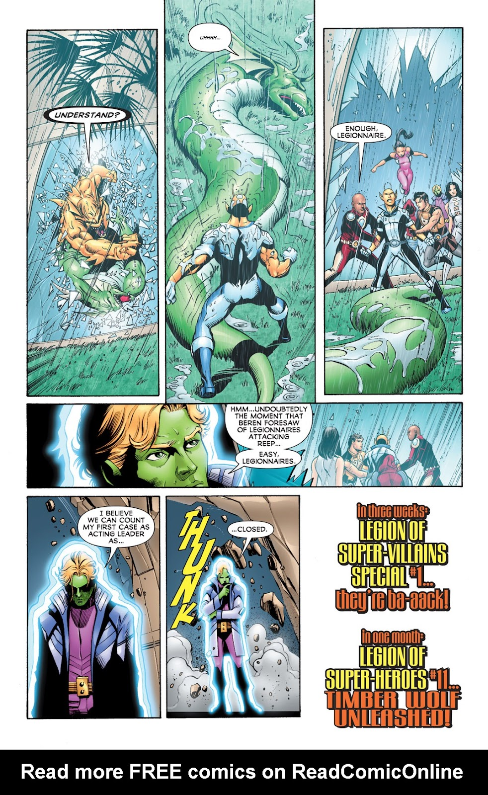 Legion of Super-Heroes (2010) Issue #10 #11 - English 21