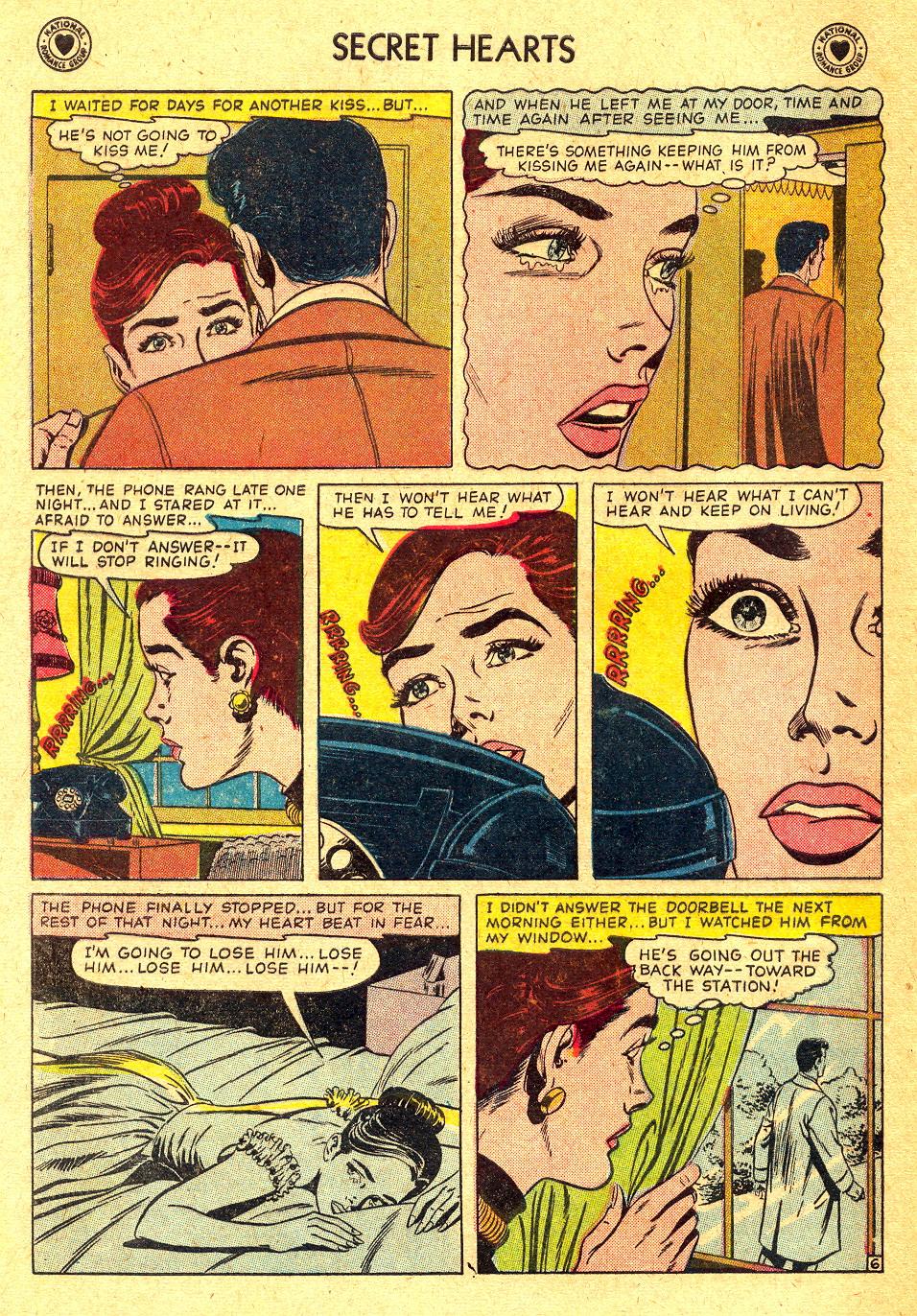 Read online Secret Hearts comic -  Issue #45 - 32