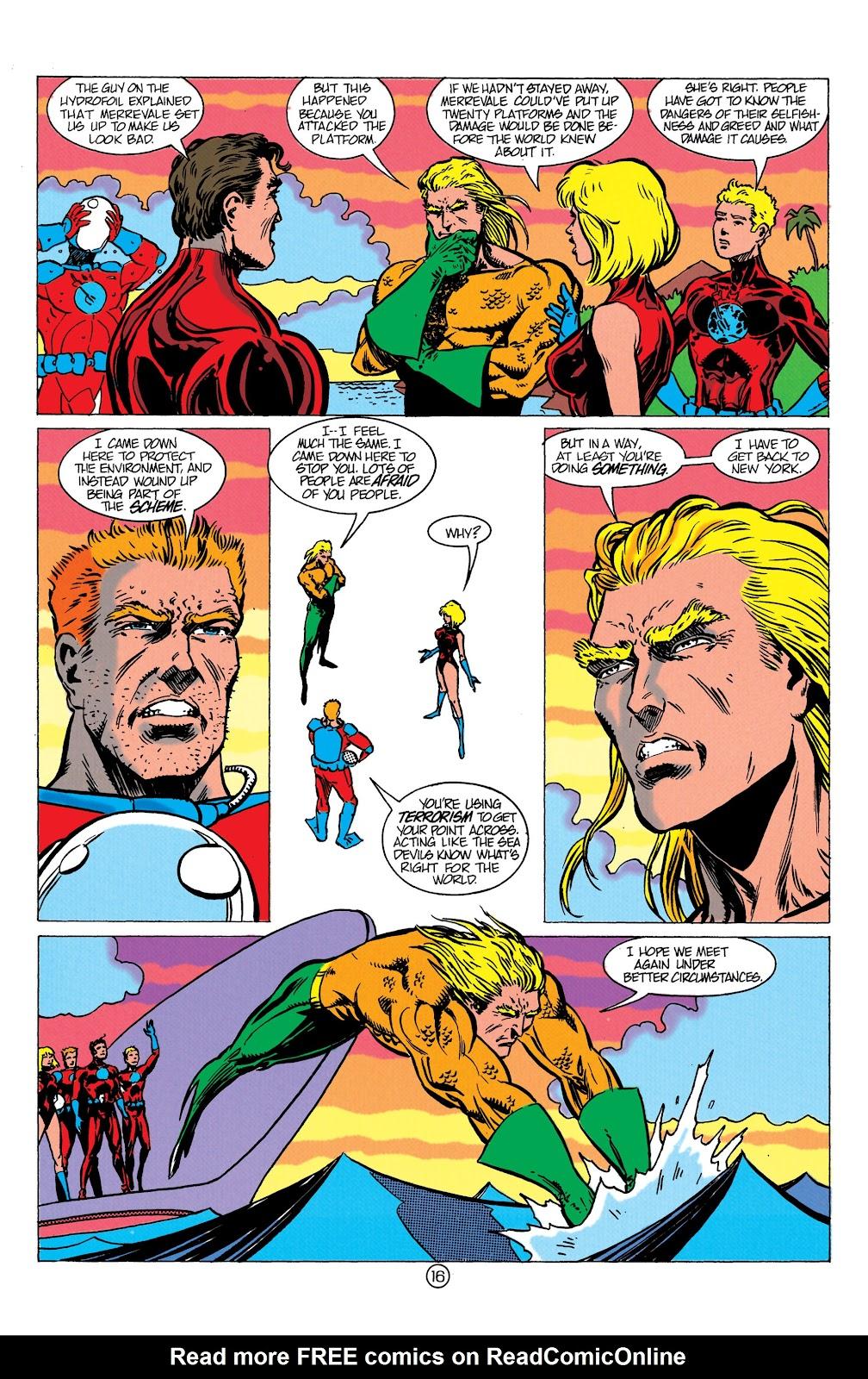 Aquaman (1991) Issue #10 #10 - English 17