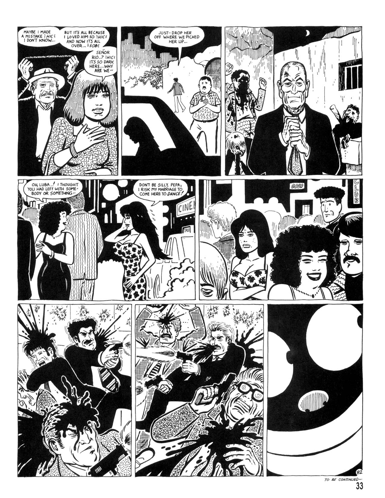 Love and Rockets (1982) #35 #35 - English 35