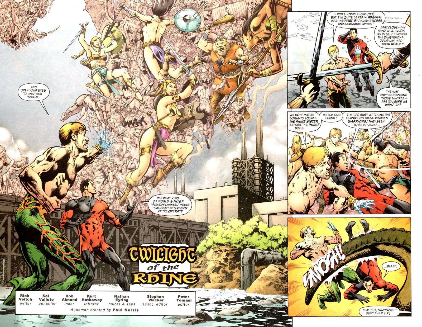 Aquaman (2003) Issue #7 #7 - English 4