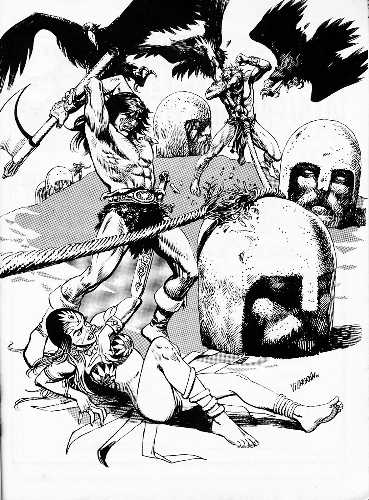 The Savage Sword Of Conan Issue #186 #187 - English 58