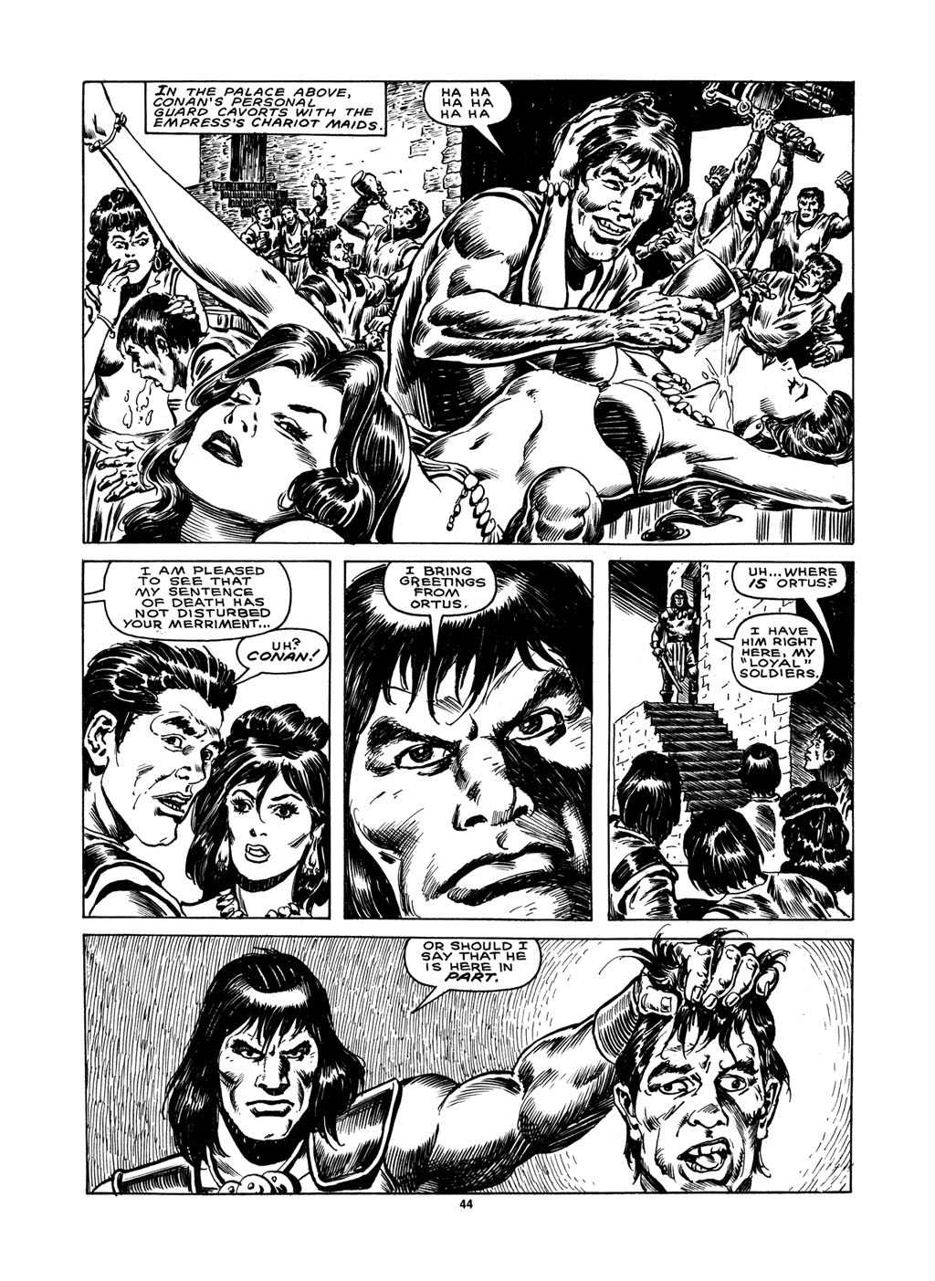 The Savage Sword Of Conan Issue #148 #149 - English 42
