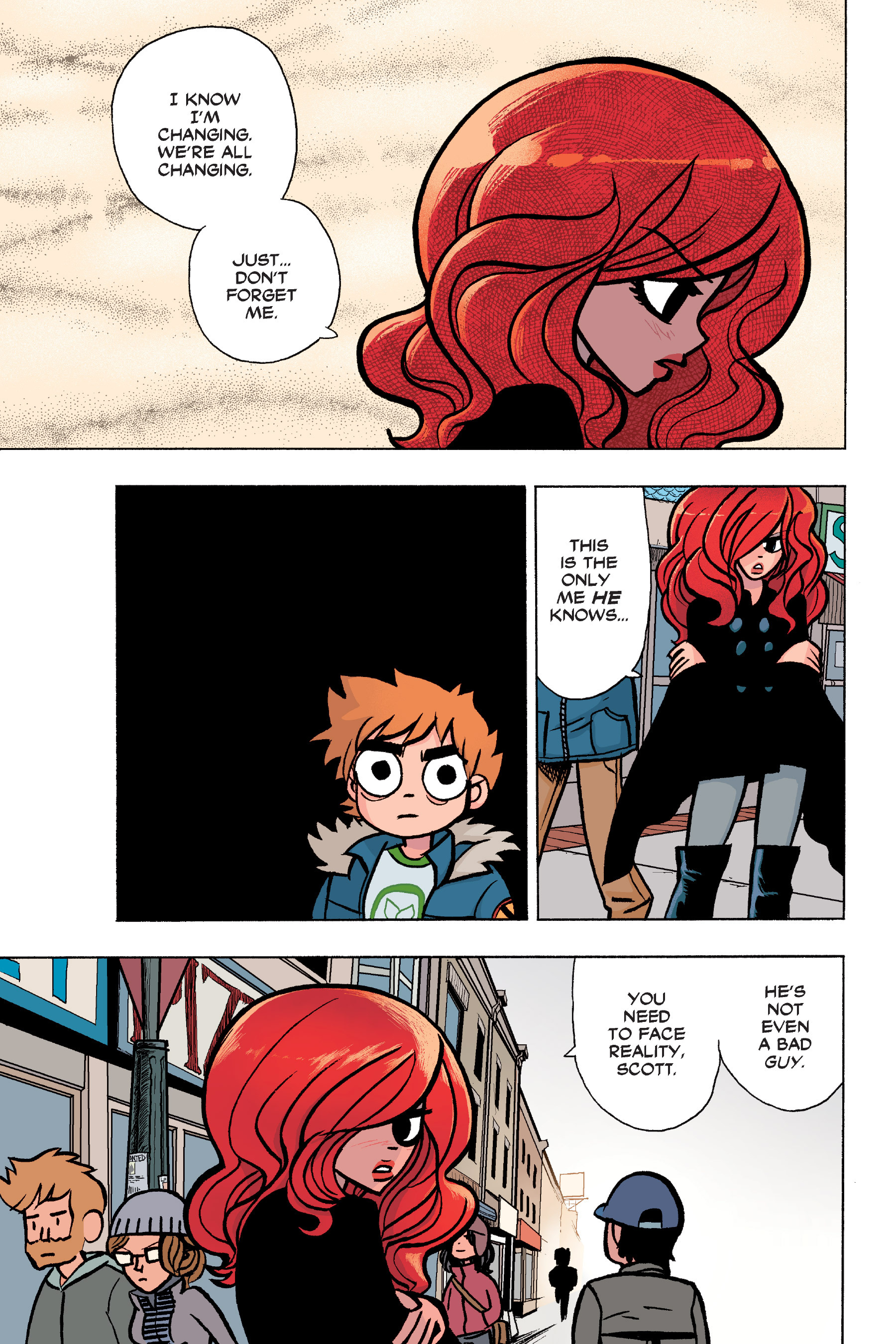 Read online Scott Pilgrim comic -  Issue #6 - 58