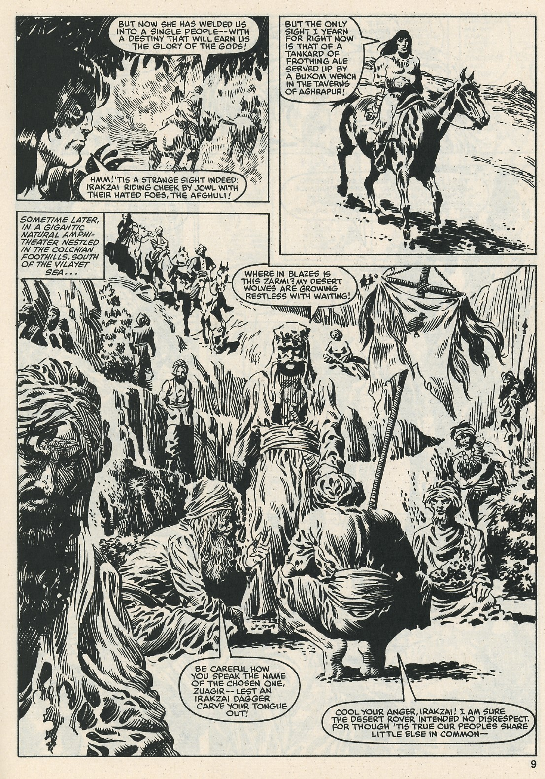 The Savage Sword Of Conan Issue #112 #113 - English 9