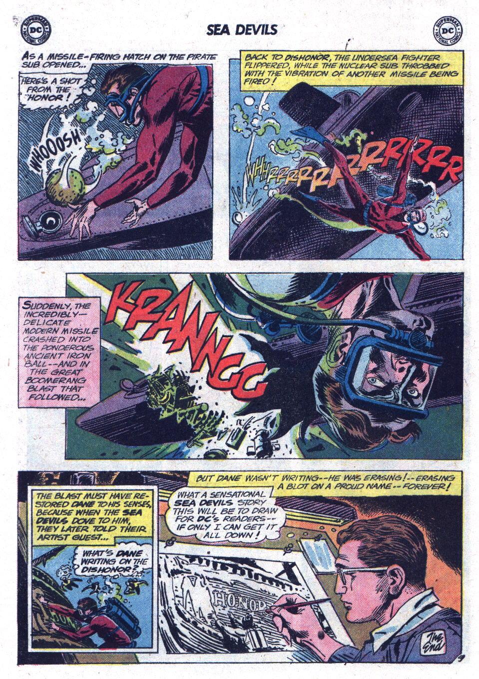 Read online Sea Devils comic -  Issue #13 - 12