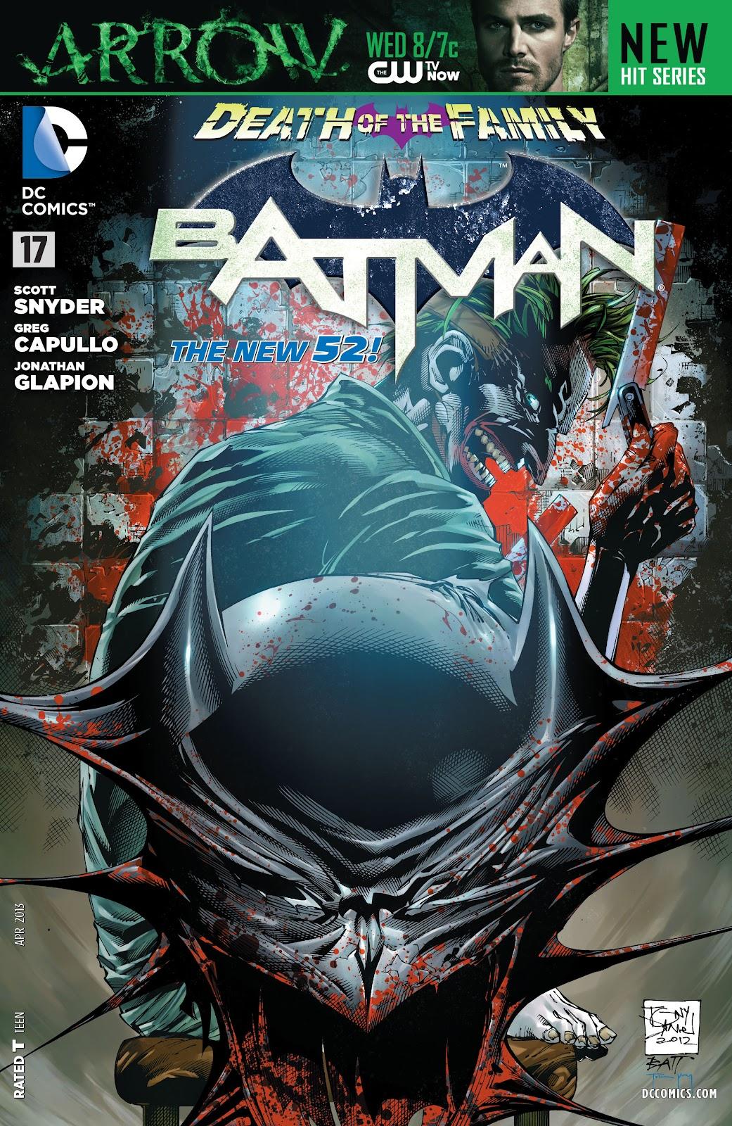 Batman (2011) Issue #17 #32 - English 33