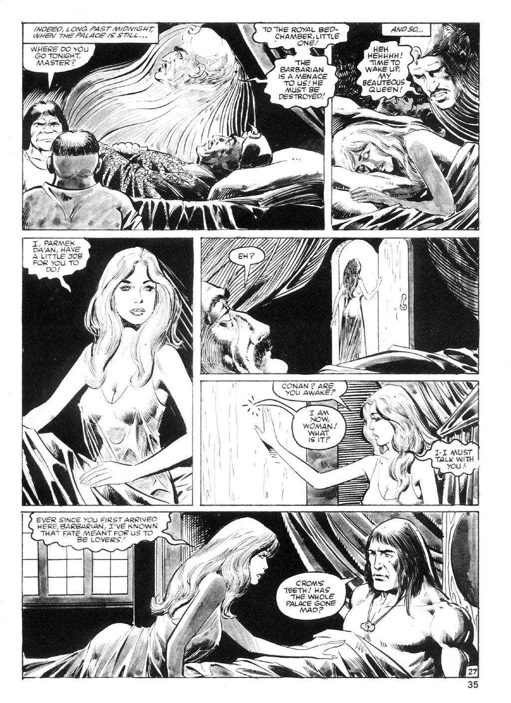 The Savage Sword Of Conan Issue #94 #95 - English 34
