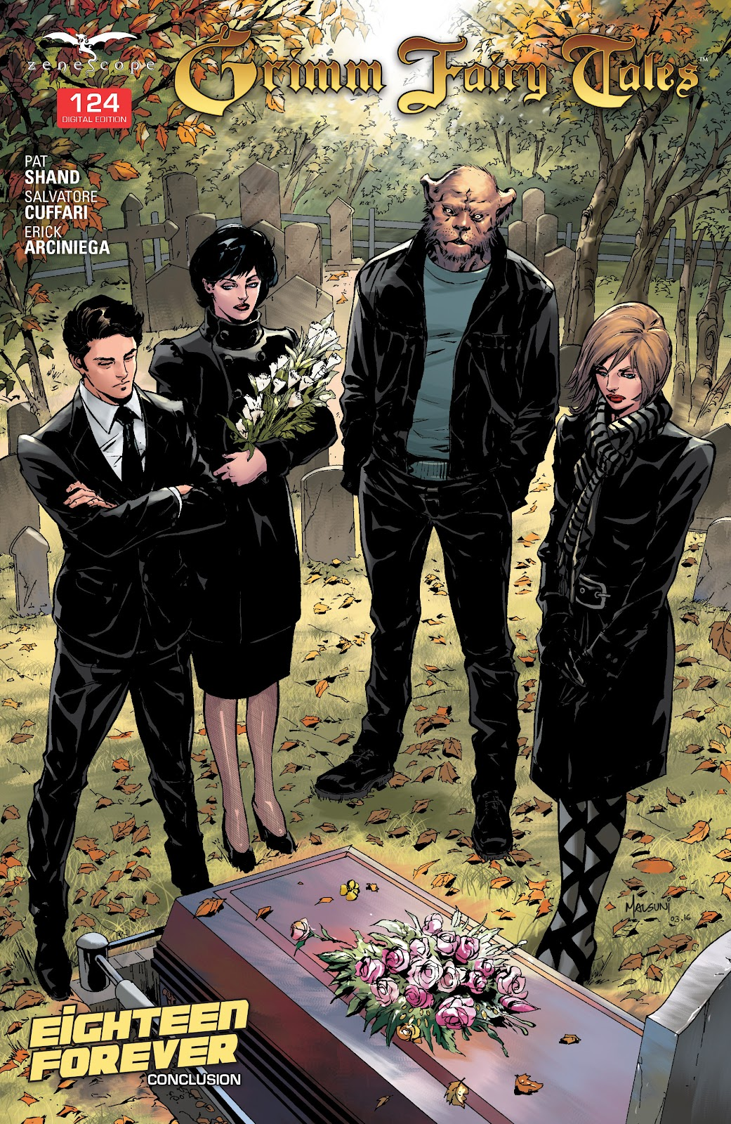 Grimm Fairy Tales (2005) Issue #124 #127 - English 1