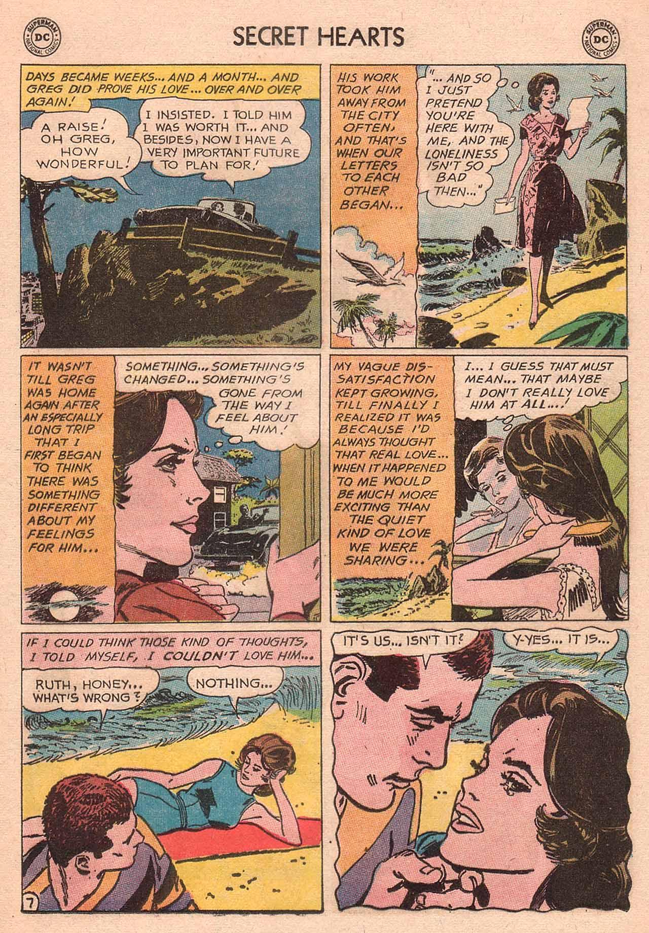Read online Secret Hearts comic -  Issue #94 - 33