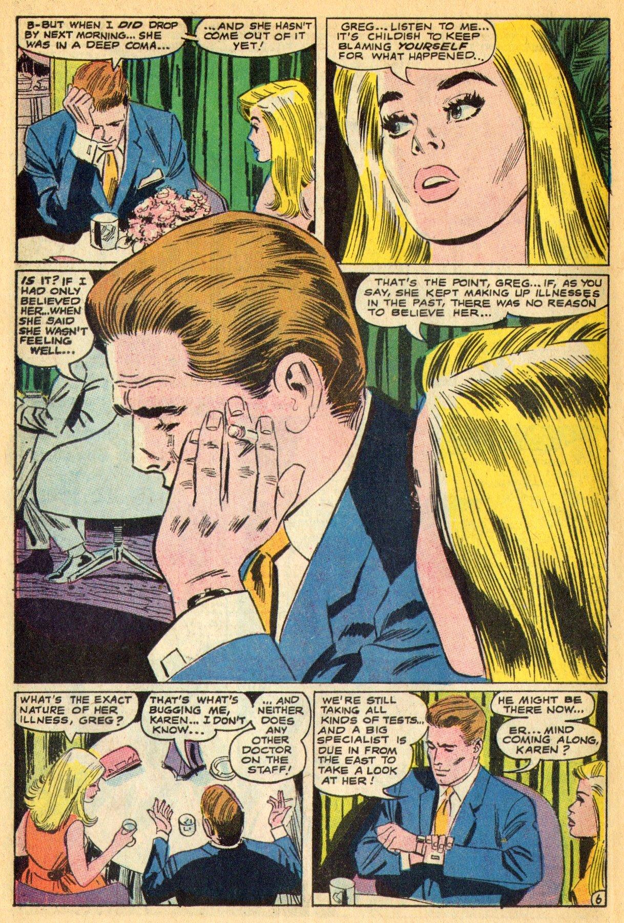 Read online Secret Hearts comic -  Issue #134 - 26