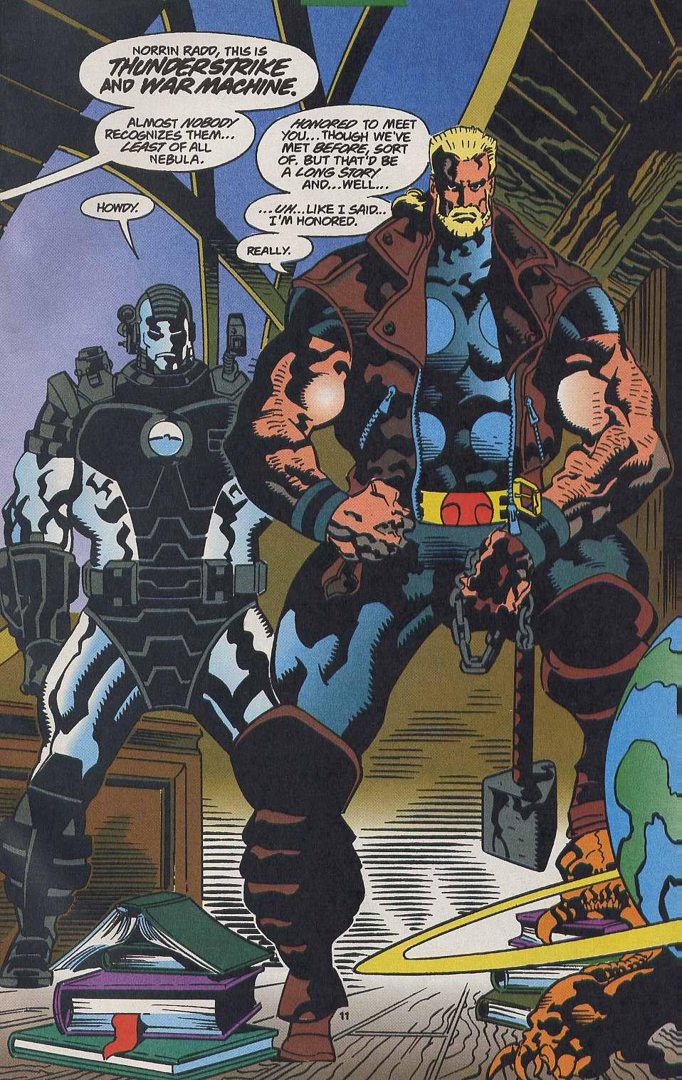 Read online Secret Defenders comic -  Issue #9 - 9